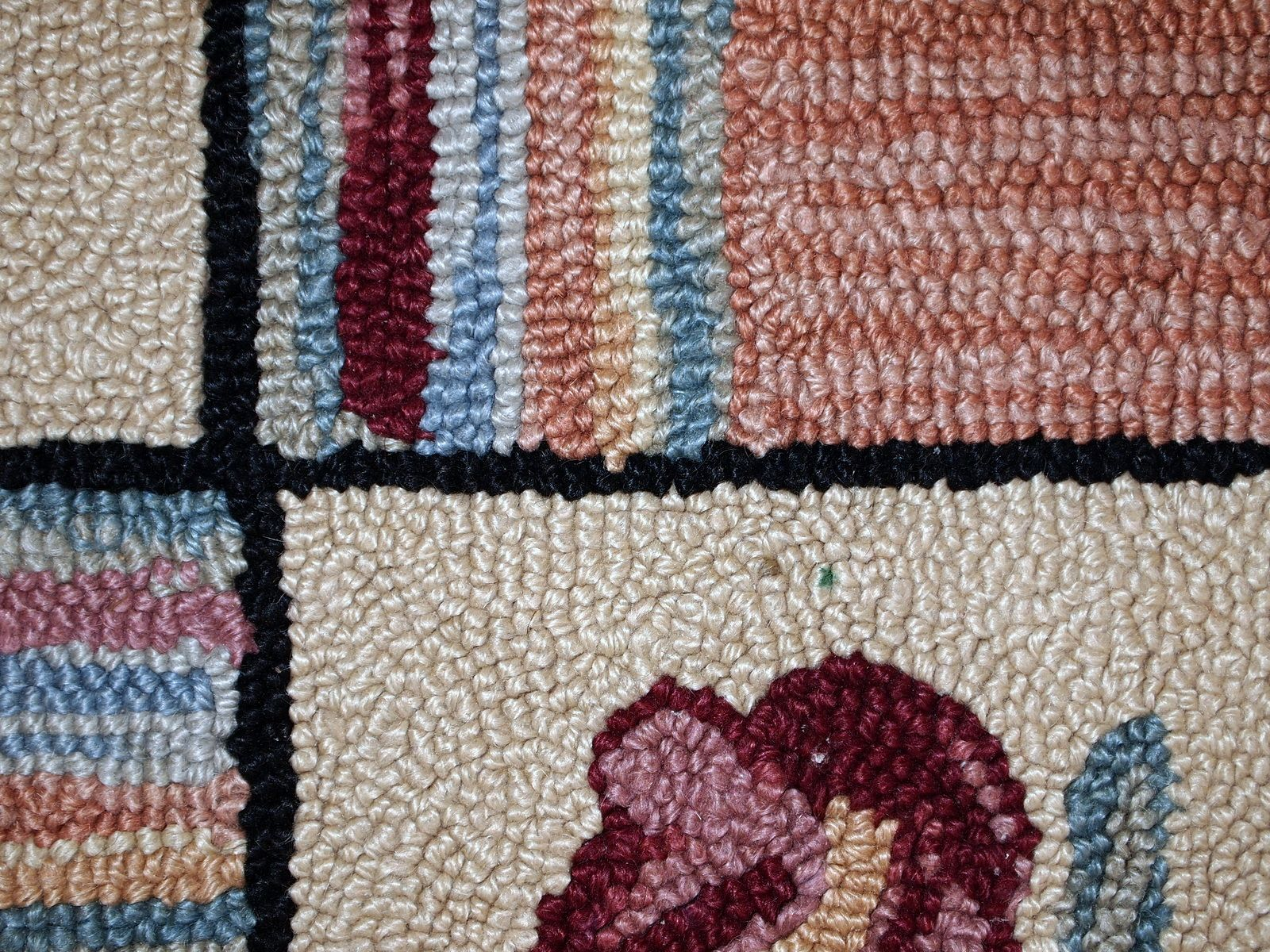 Handmade american hooked rug s for sale at pamono