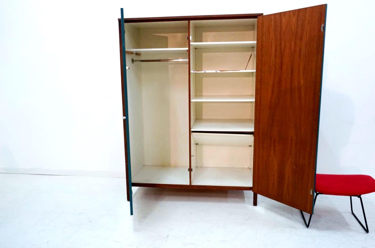 teak schrank von florence knoll f r knoll international 1958 bei pamono kaufen. Black Bedroom Furniture Sets. Home Design Ideas
