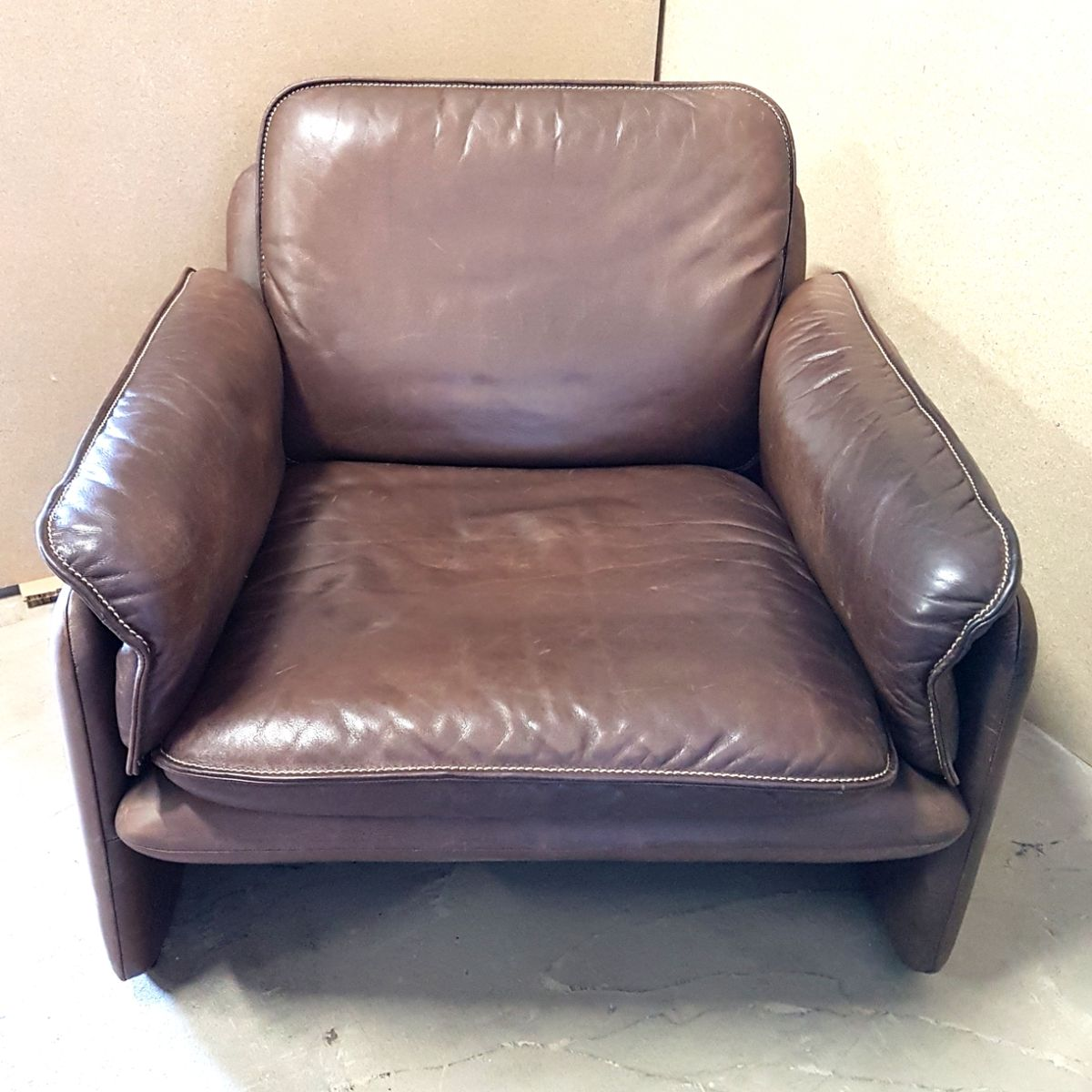 vintage ds61 sessel von de sede bei pamono kaufen. Black Bedroom Furniture Sets. Home Design Ideas