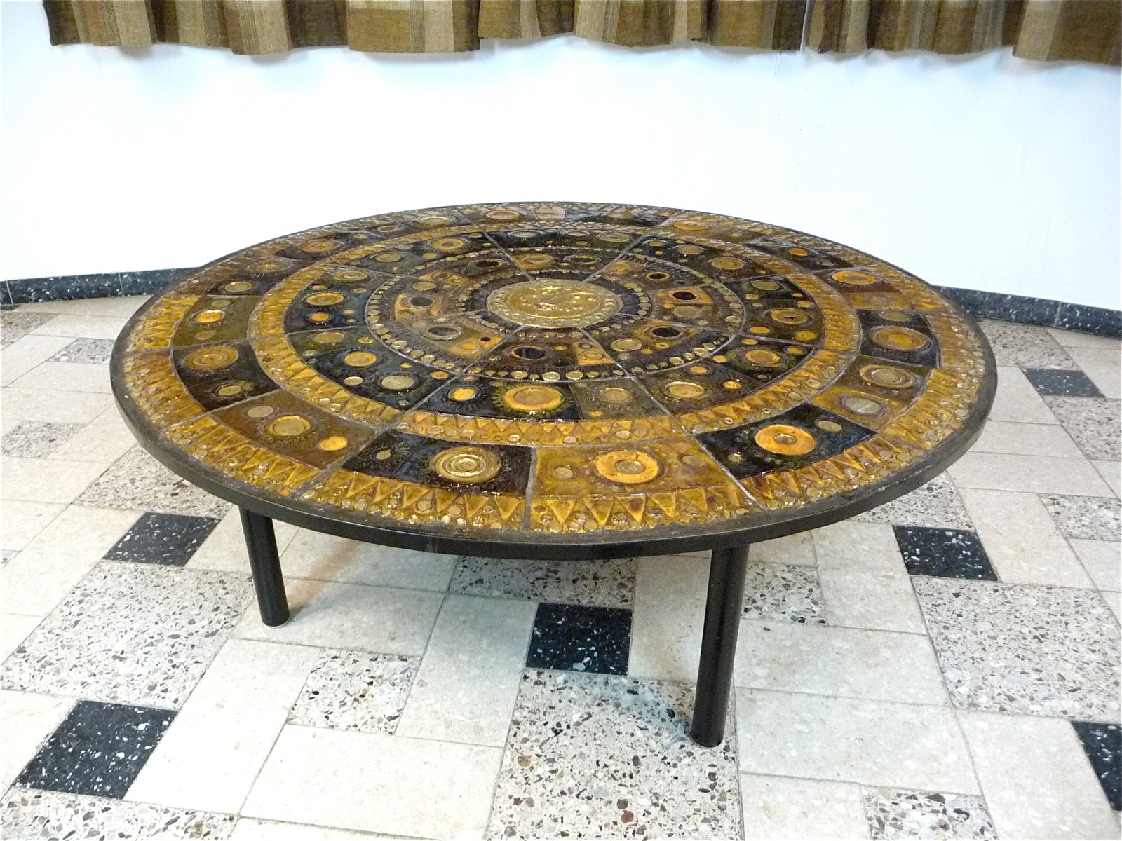 German Ceramic Coffee Table by Renate Rhein 1960s for sale at Pamono