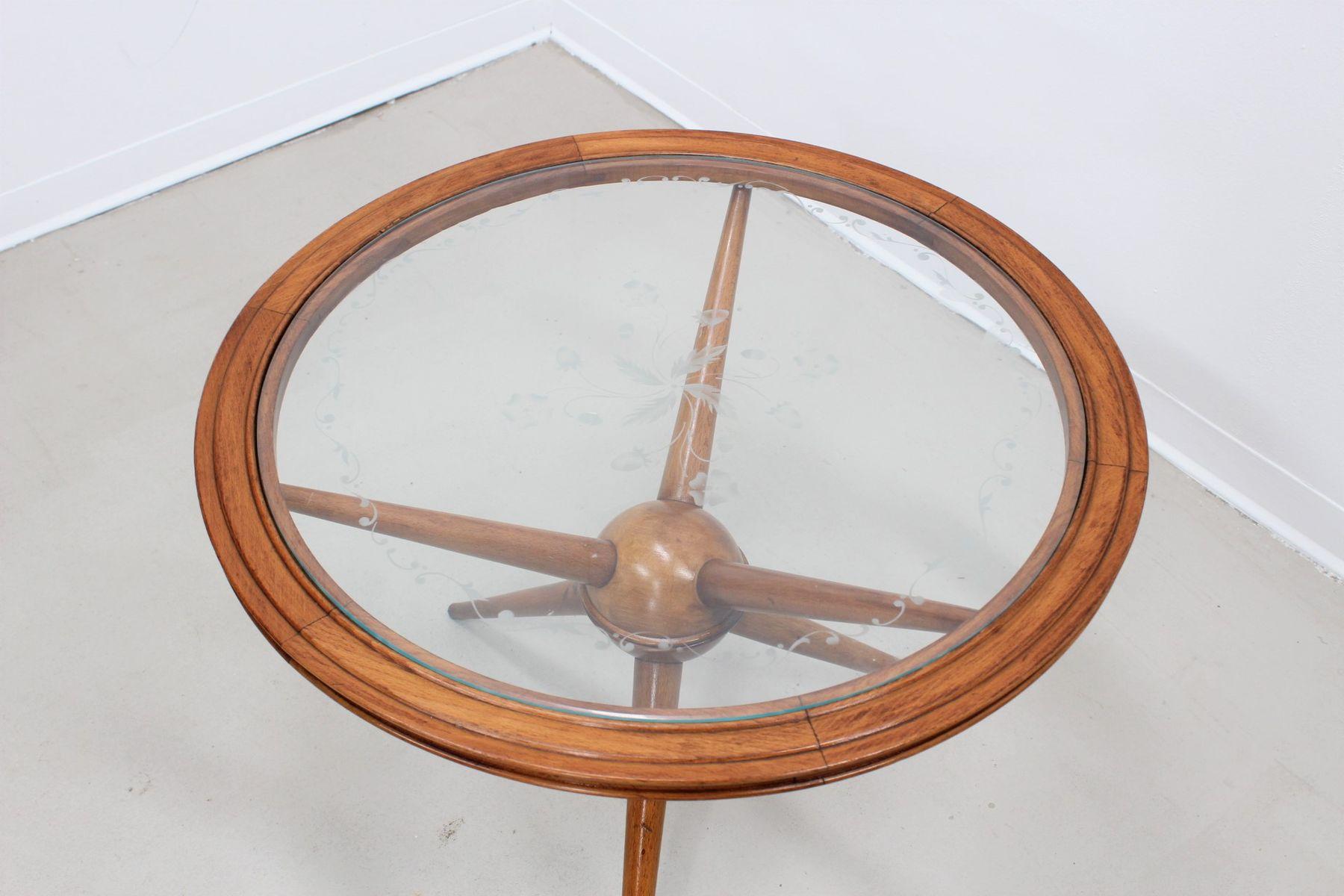 Mid Century Sputnik Circular Coffee Table for sale at Pamono