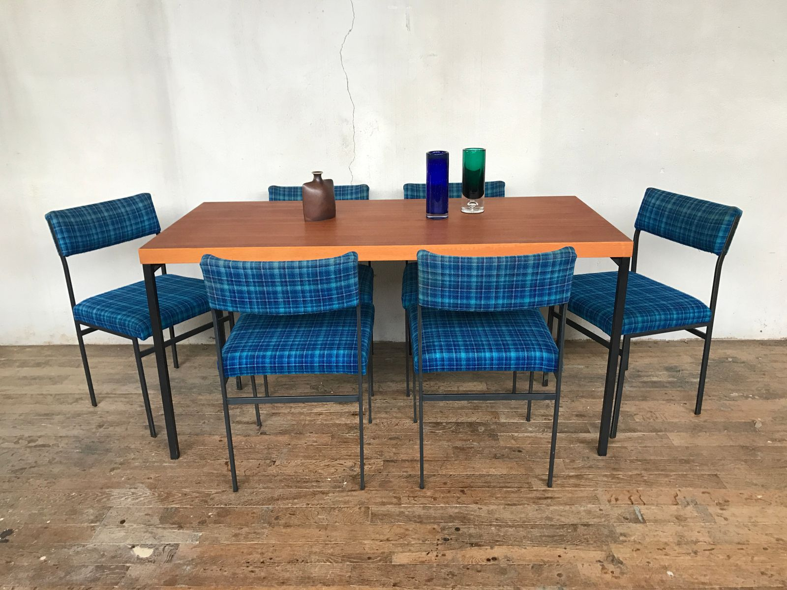 ... Teak Dining Room Sets Teak Dining Table By Dieter Wäckerlin For Behr  With 6 Chairs ...