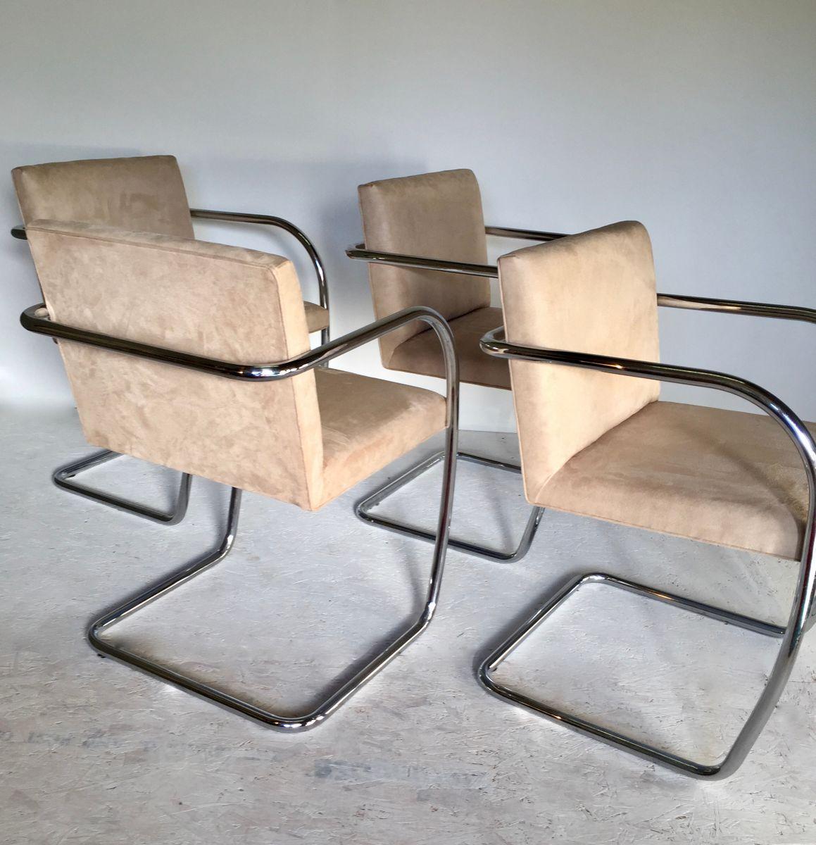 chrom st hle 1980er 4er set bei pamono kaufen. Black Bedroom Furniture Sets. Home Design Ideas