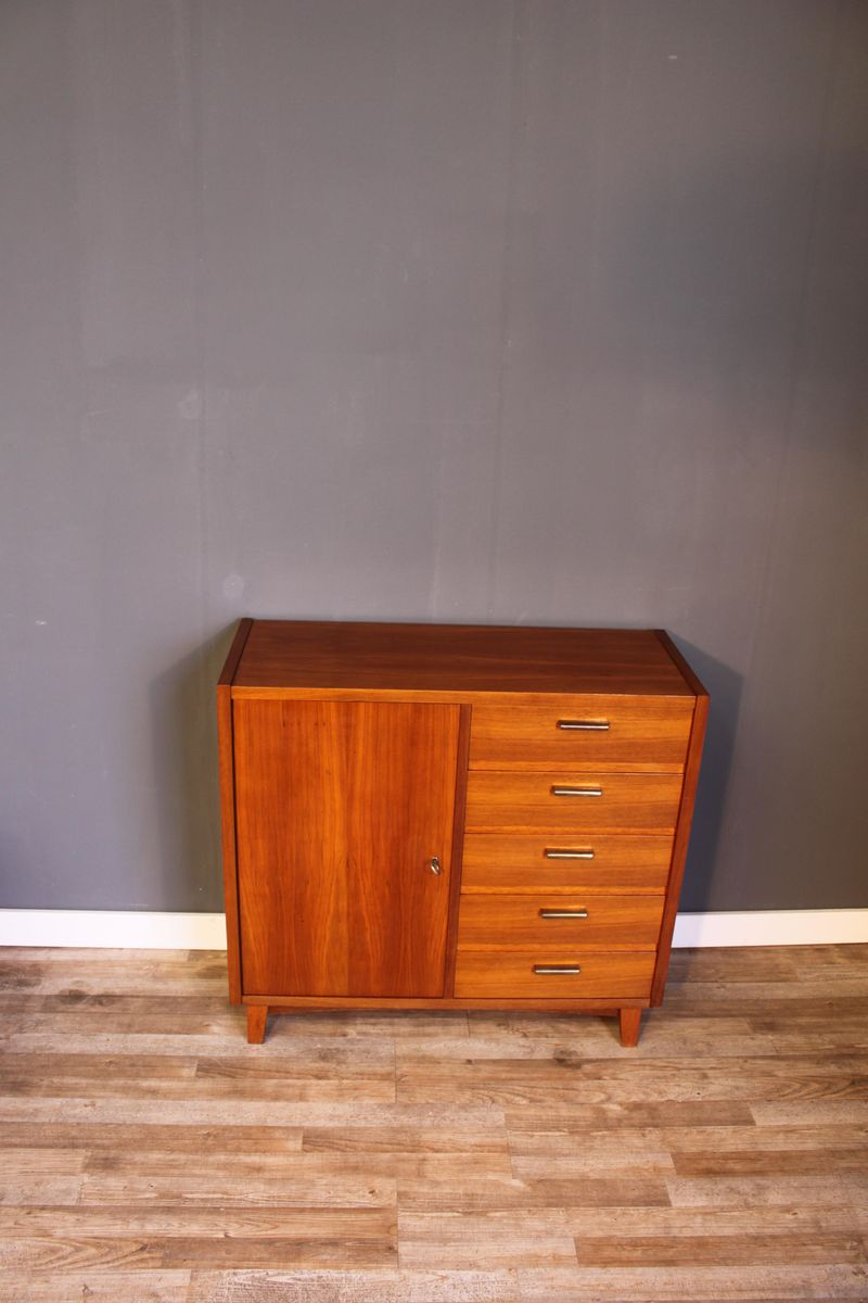 Small teak sideboard from musterring international 1950s for Sideboard musterring