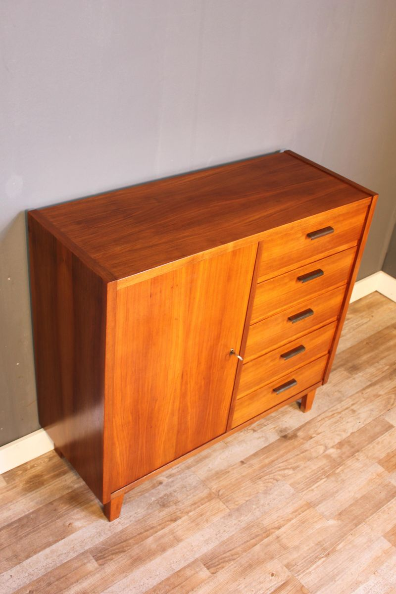 small teak sideboard from musterring international 1950s for sale at pamono. Black Bedroom Furniture Sets. Home Design Ideas