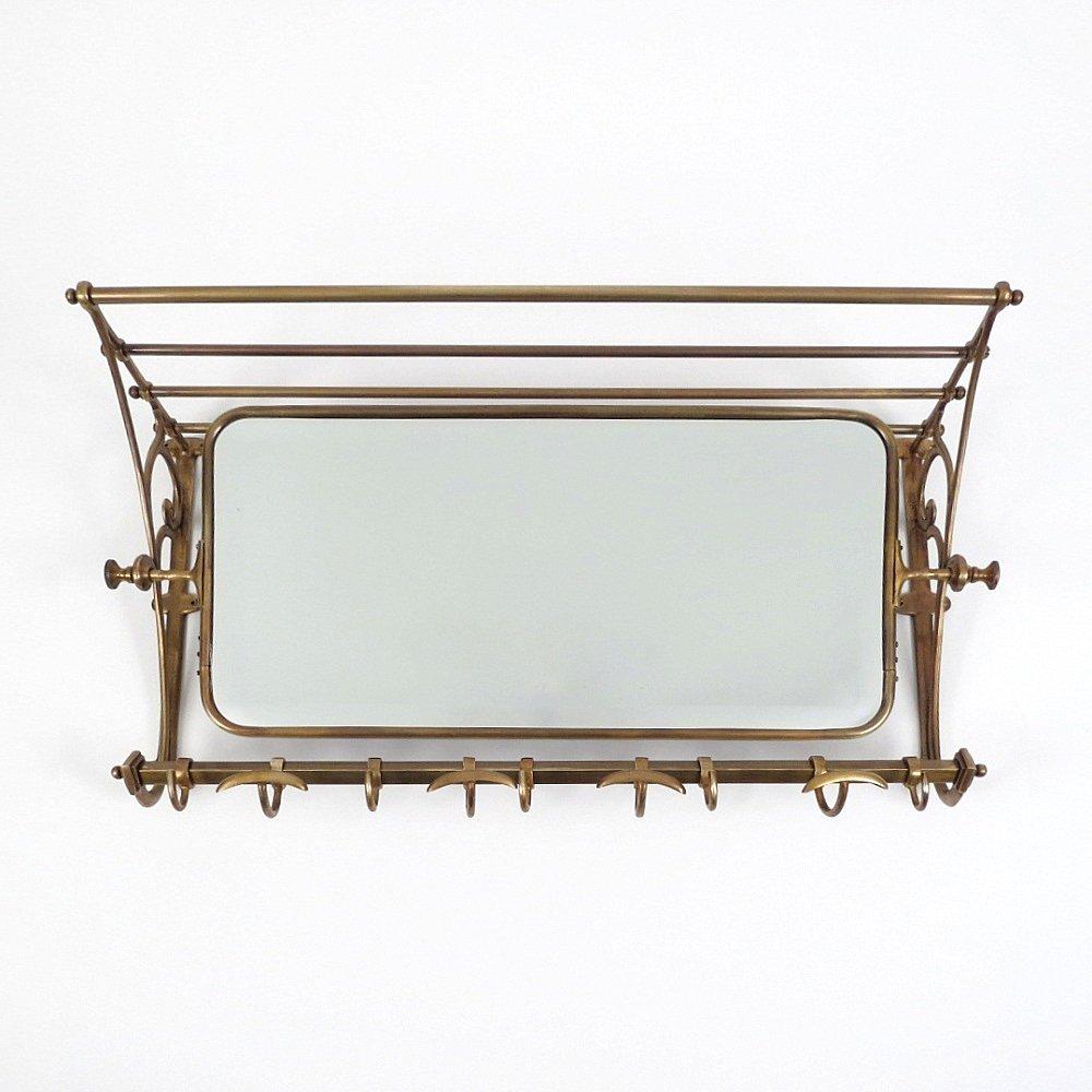 vintage messing kleiderst nder mit drehbarem spiegel bei pamono kaufen. Black Bedroom Furniture Sets. Home Design Ideas