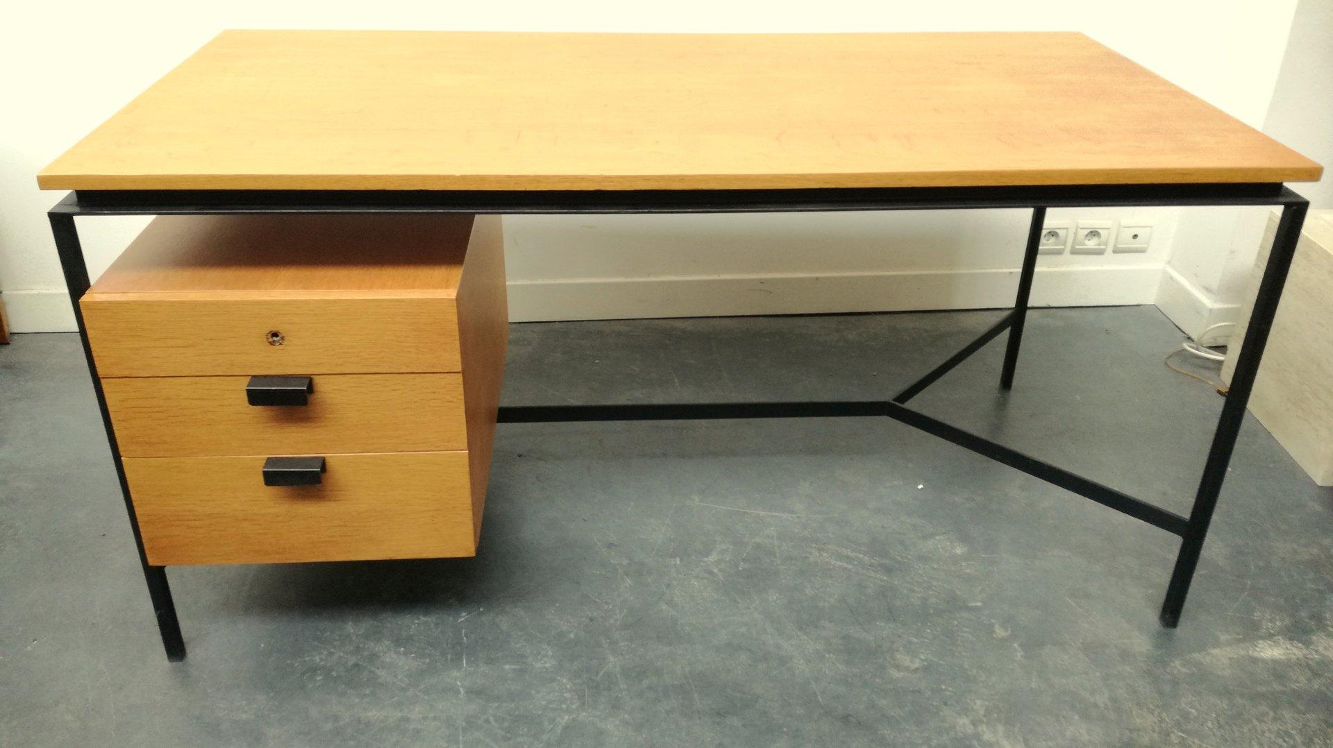 schreibtisch von pierre paulin f r thonet 1950er bei. Black Bedroom Furniture Sets. Home Design Ideas