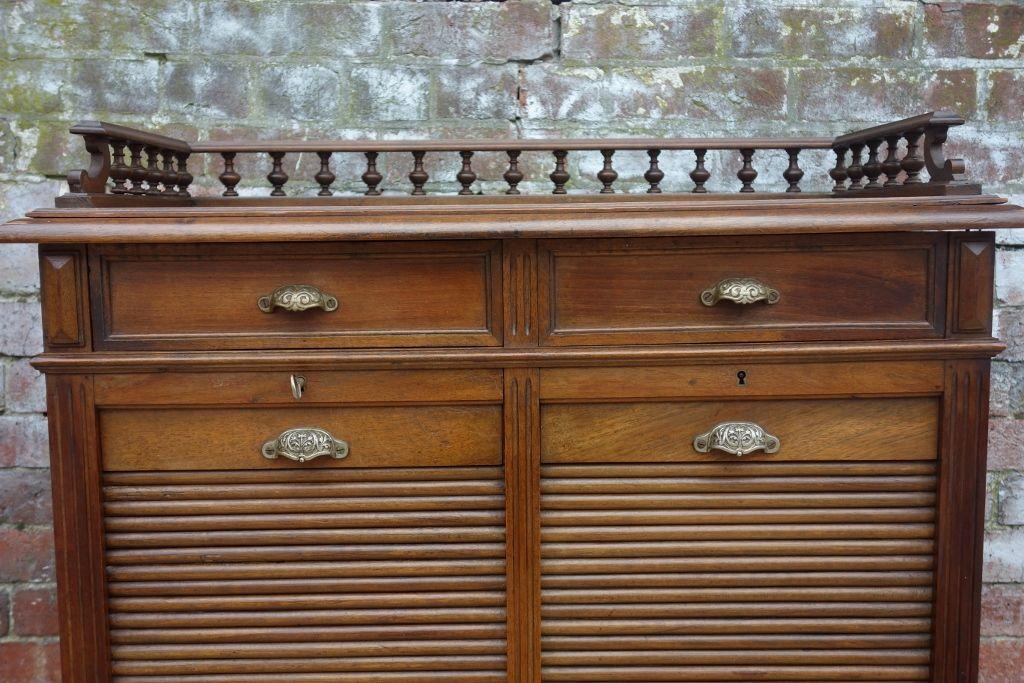 Mid-Century Oak Haberdashery Cabinet for sale at Pamono