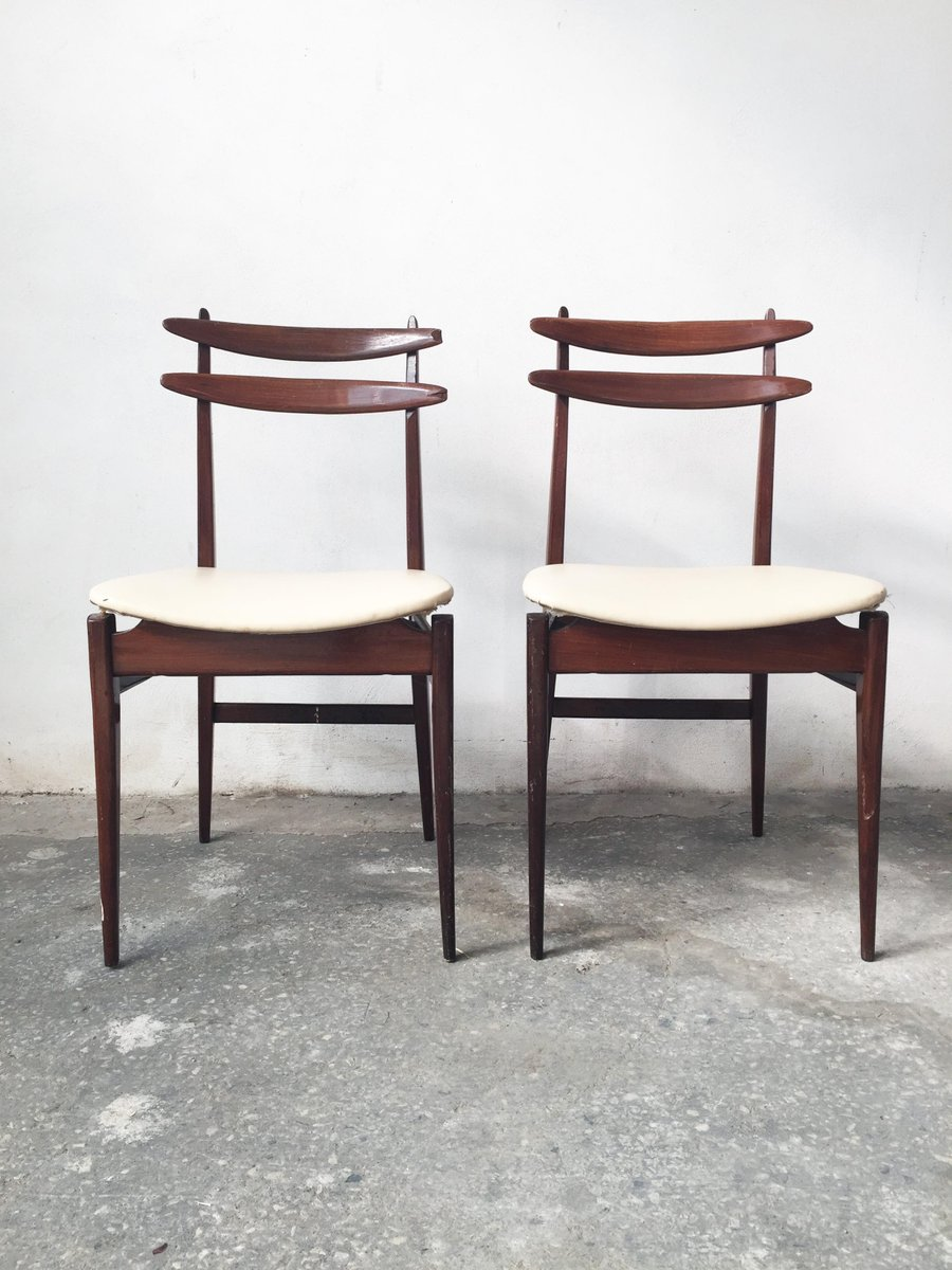 italienische st hle 1950er 2er set bei pamono kaufen. Black Bedroom Furniture Sets. Home Design Ideas