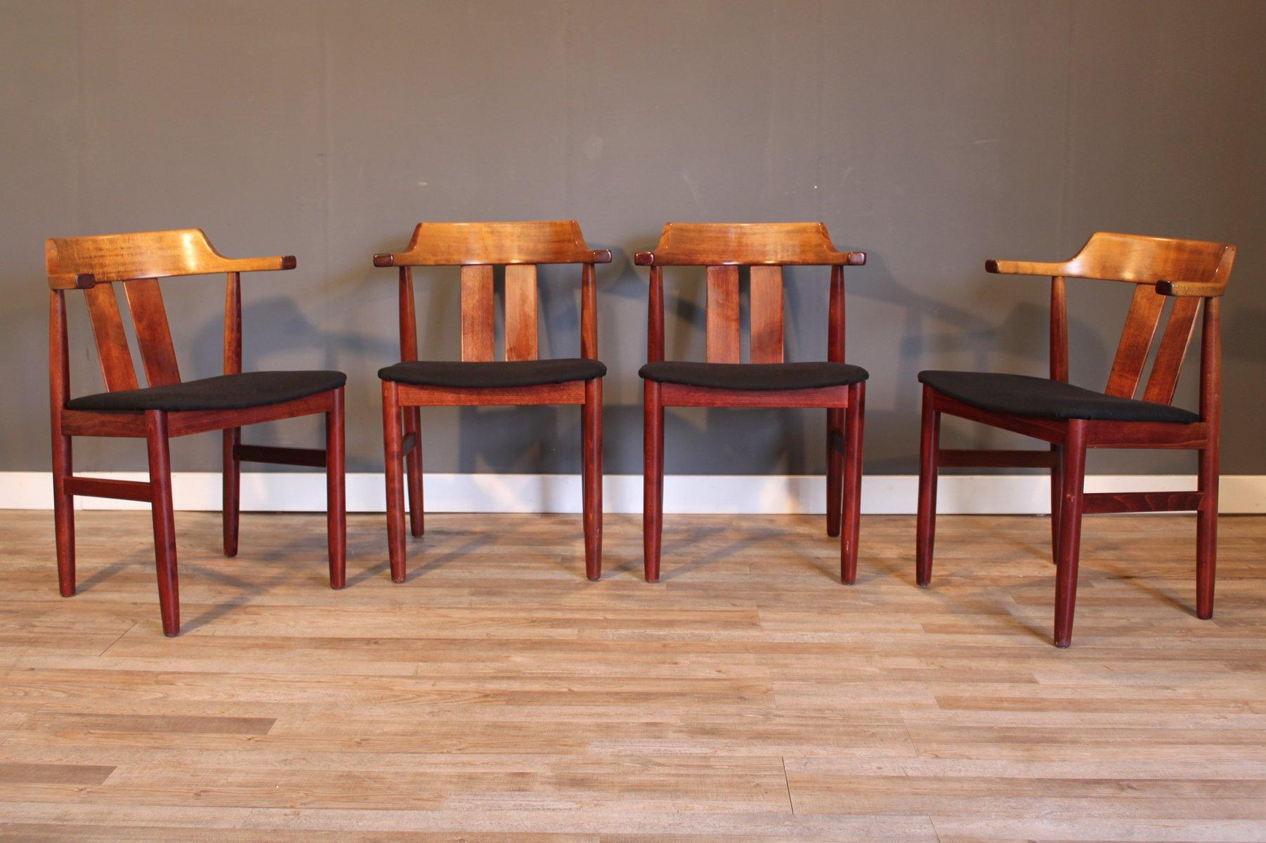 schwedische vintage st hle von gemla m bler 1974 4er set bei pamono kaufen. Black Bedroom Furniture Sets. Home Design Ideas