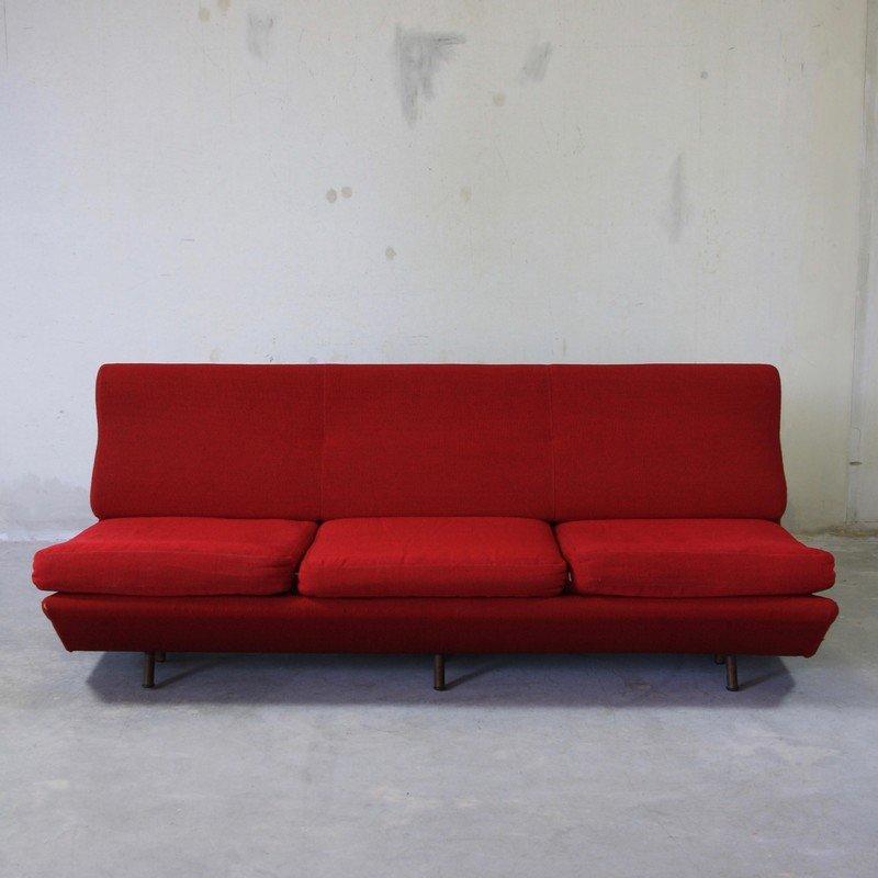 Rotes sleep o matic schlafsofa von marco zanuso f r arflex for Rotes schlafsofa
