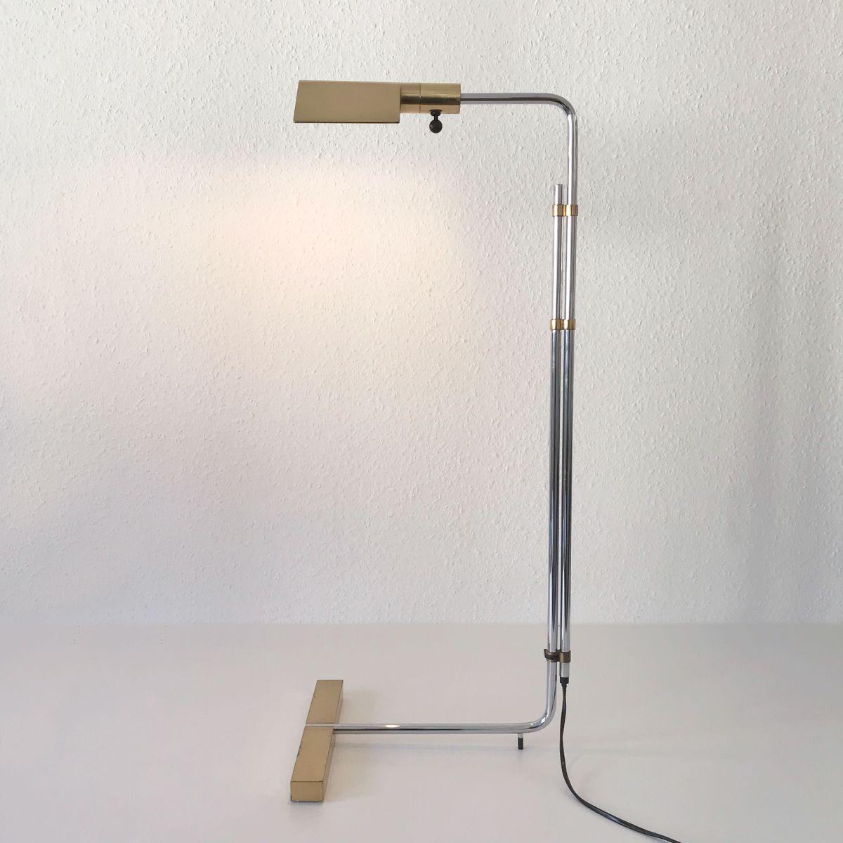 Mid Century Modern Backslider Floor Lamp By Cedric Hartman