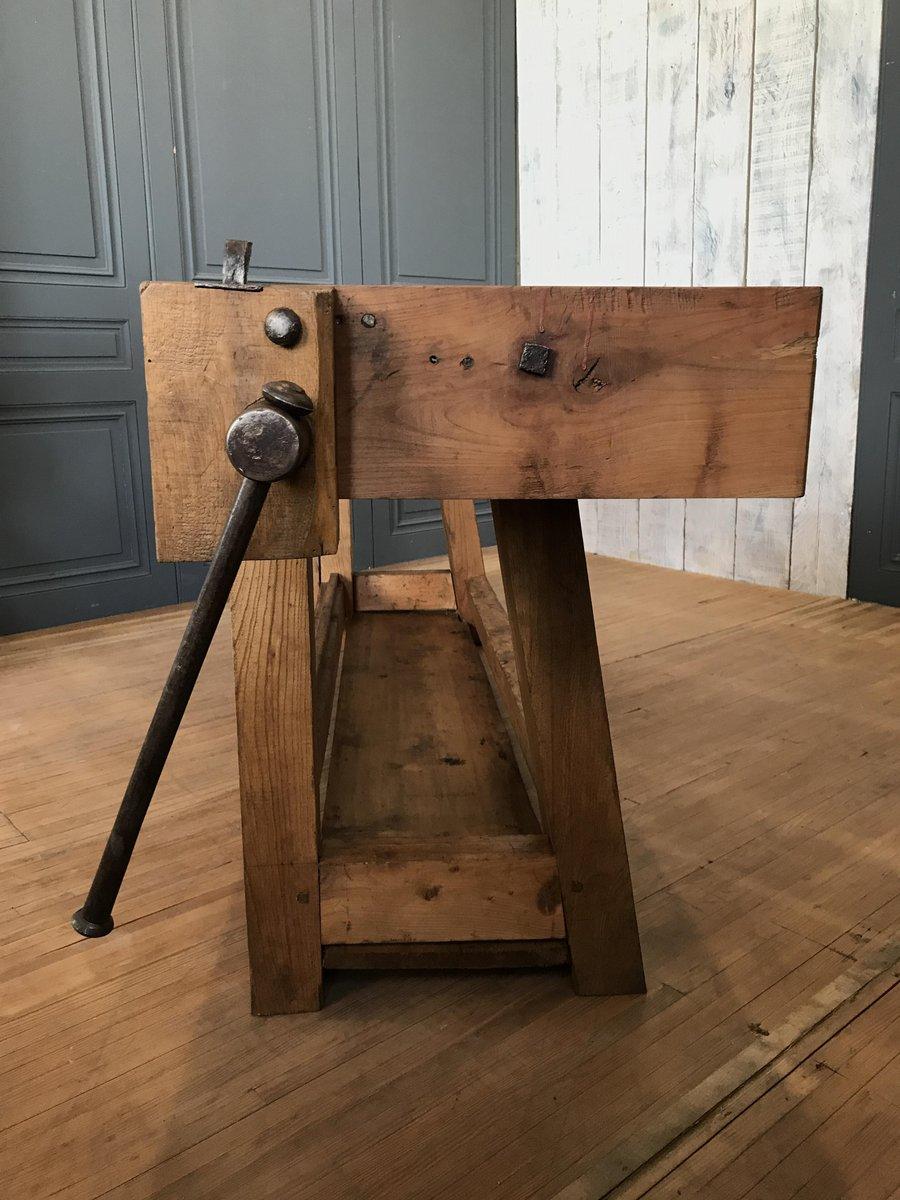 tischler werkbank 1930er bei pamono kaufen. Black Bedroom Furniture Sets. Home Design Ideas