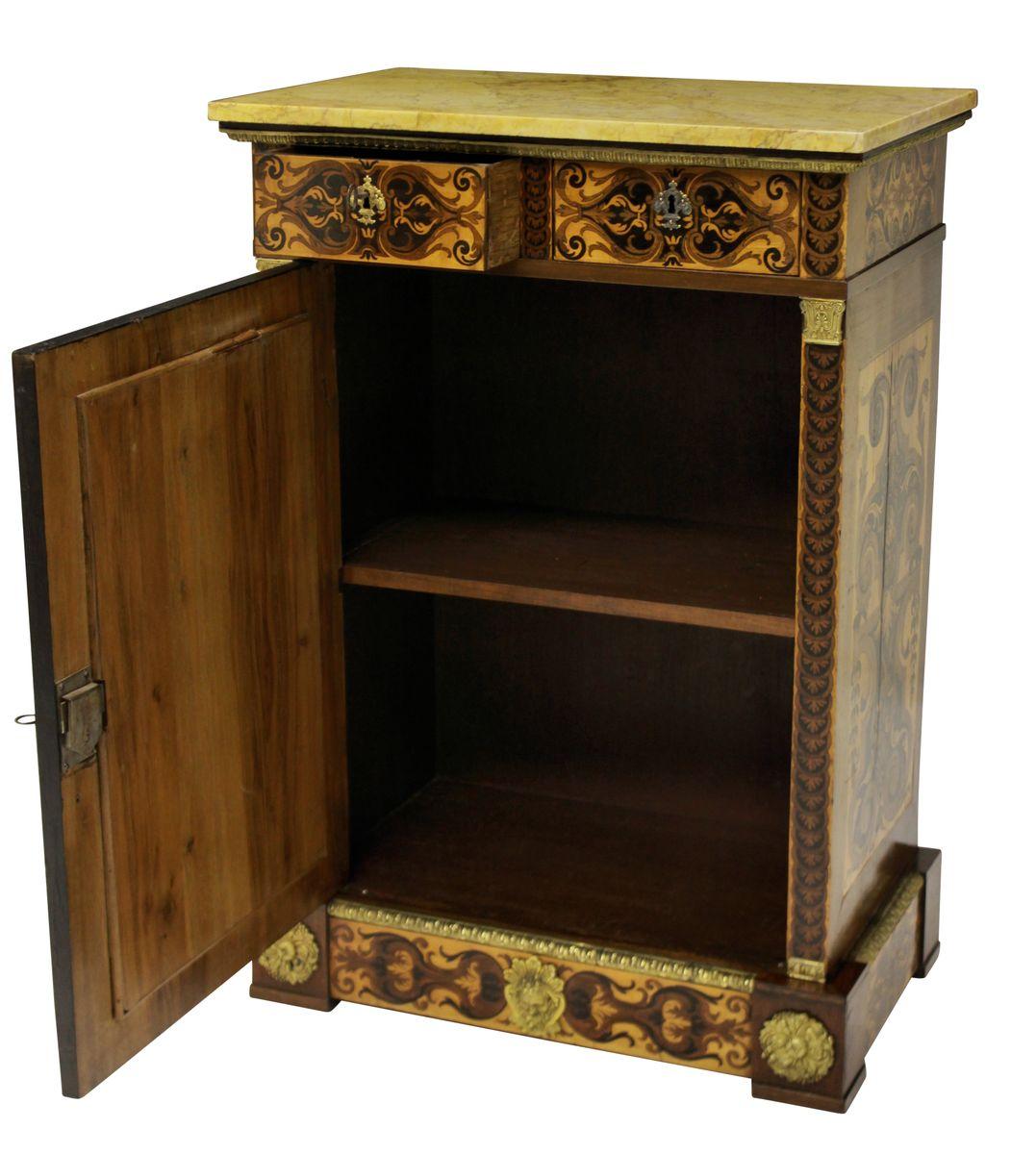 antike louis xvi schr nke 1790er 2er set bei pamono kaufen. Black Bedroom Furniture Sets. Home Design Ideas