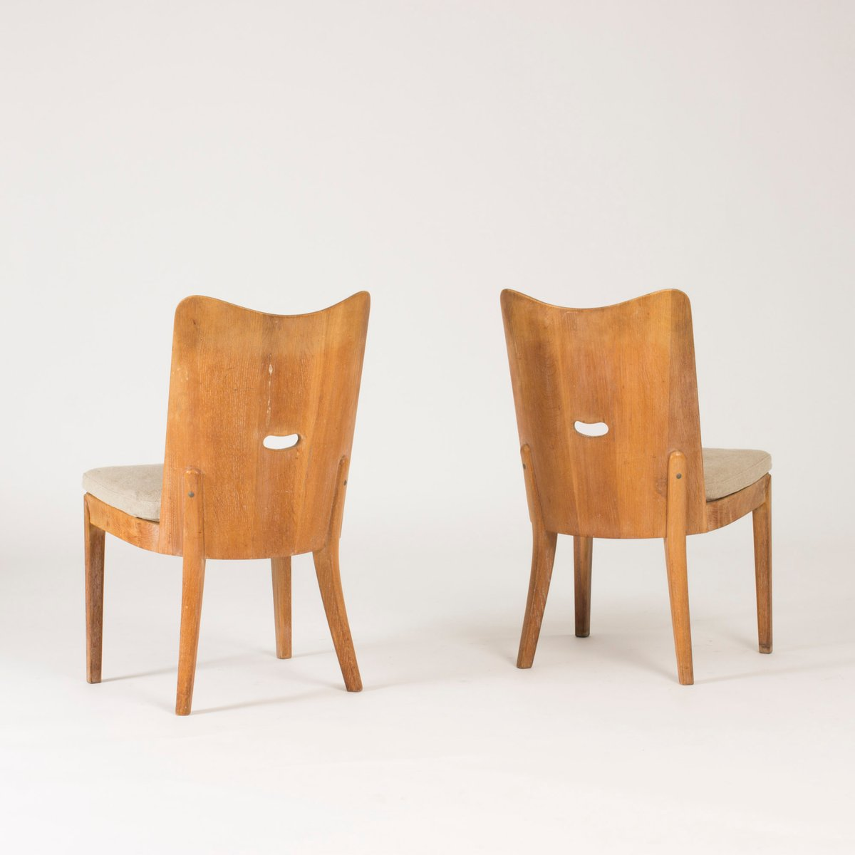 Swedish Dining Chairs 1930s Set Of 6 For Sale At Pamono