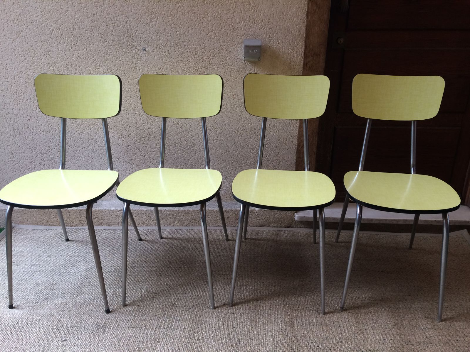 Vintage Kitchen Chairs From Roc Set Of 4 For Sale At Pamono