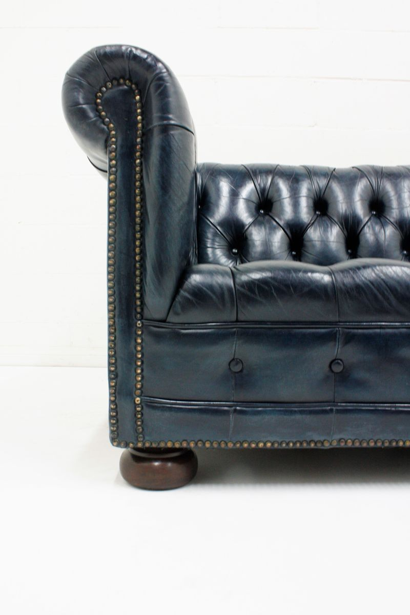 Vintage Chesterfield Leather Sofa 1970s For Sale At Pamono