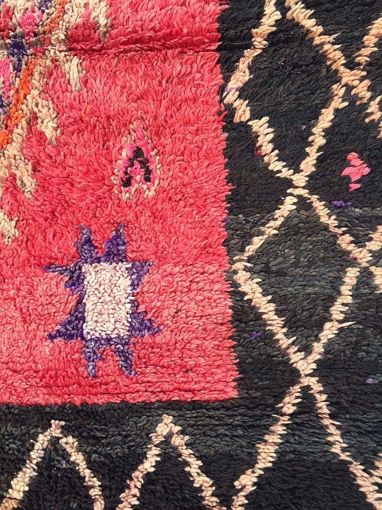 gro er marokkanischer vintage boujad teppich 1970er bei. Black Bedroom Furniture Sets. Home Design Ideas