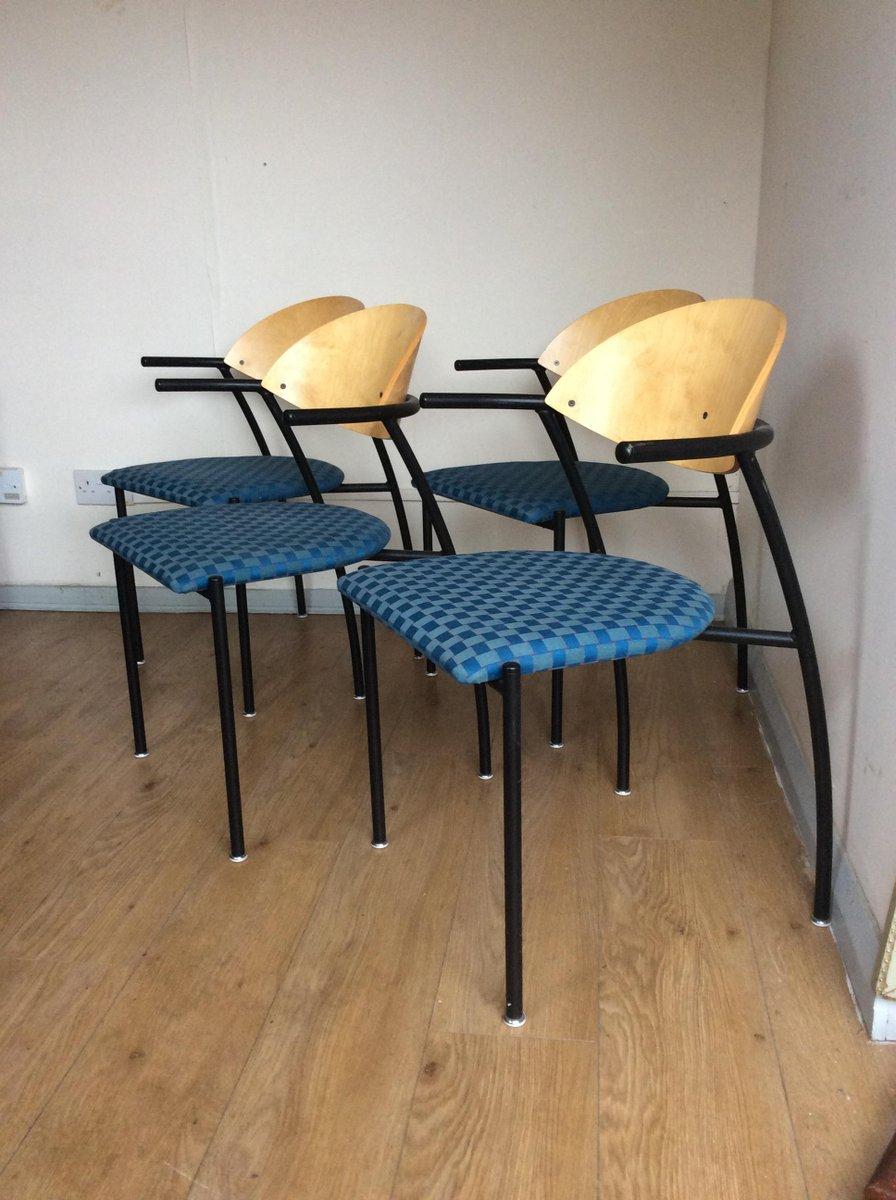 finnische st hle von eero aarnio f r asko 1998 4er set bei pamono kaufen. Black Bedroom Furniture Sets. Home Design Ideas