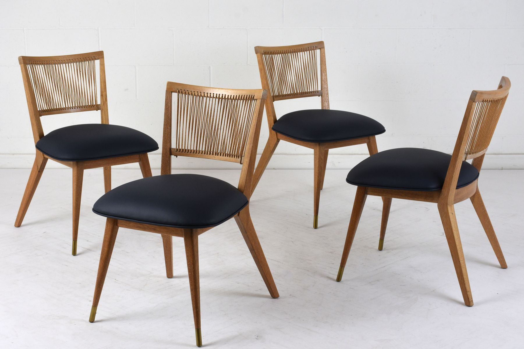 Modernist side chairs 1960s set of 4 for sale at pamono for Side chairs for sale