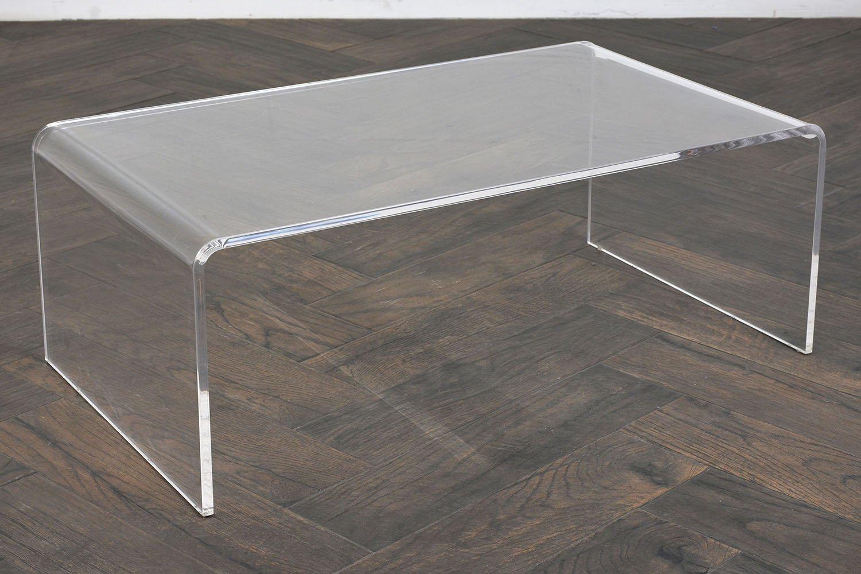 moderner plexiglas couchtisch 1980er bei pamono kaufen. Black Bedroom Furniture Sets. Home Design Ideas