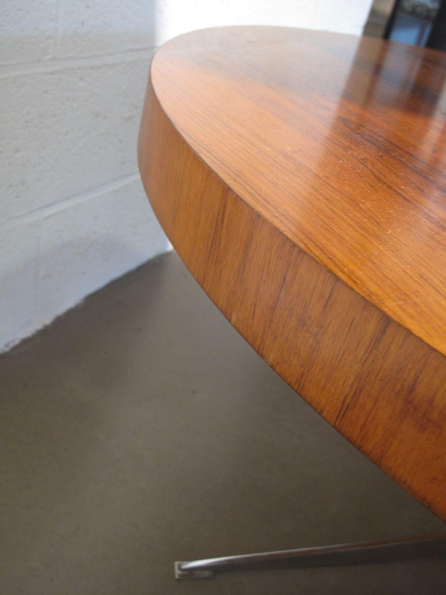 Tavolino da caff mid century impiallacciato in for Tavolino anni 60 design
