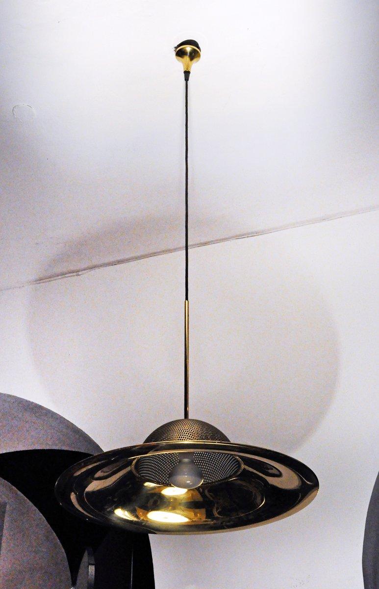 Vintage messing deckenlampe 1970er bei pamono kaufen for Deckenlampe messing