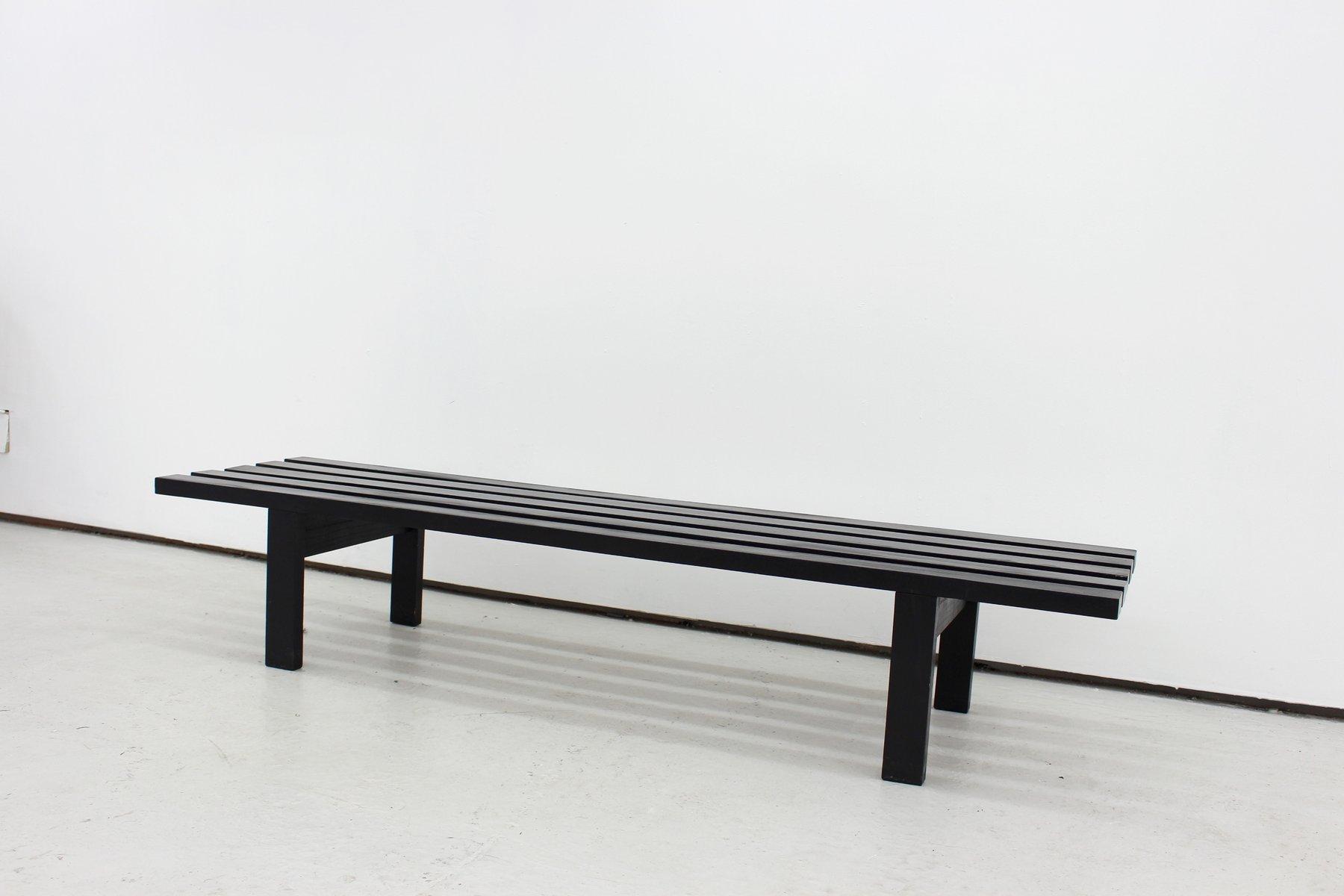 BZ71 Slatted Bench by Martin Visser for t Spectrum 1960s for