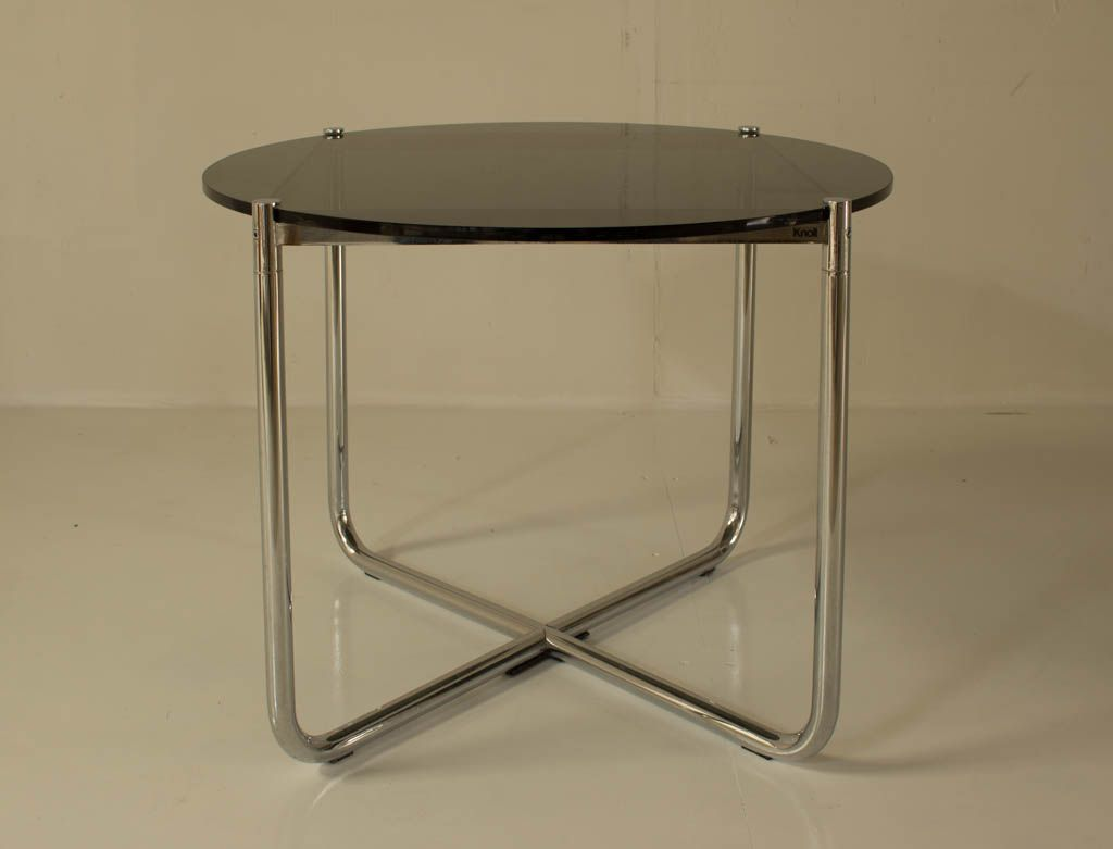 vintage mr table by mies van der rohe for knoll for sale. Black Bedroom Furniture Sets. Home Design Ideas