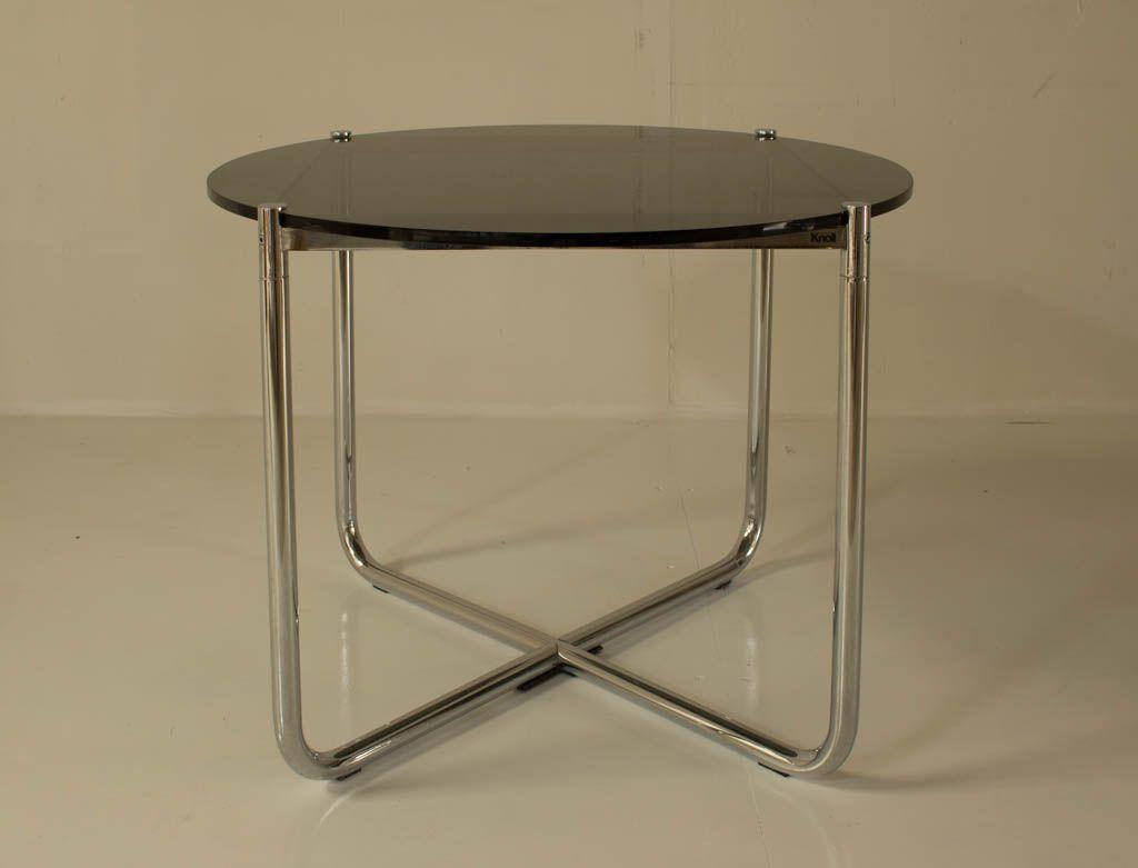 vintage mr tisch von mies van der rohe f r knoll bei pamono kaufen. Black Bedroom Furniture Sets. Home Design Ideas