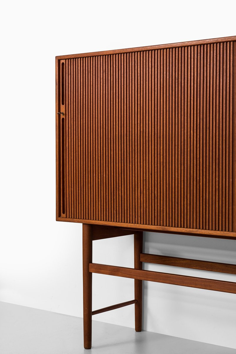 danish teak sideboard by ib kofod larsen for christensen. Black Bedroom Furniture Sets. Home Design Ideas