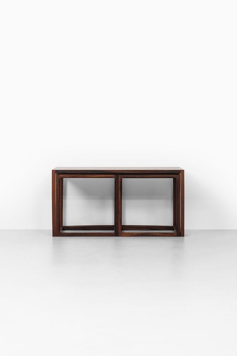 Danish Nesting Tables By Aksel Kjersgaard For Mbler Odder