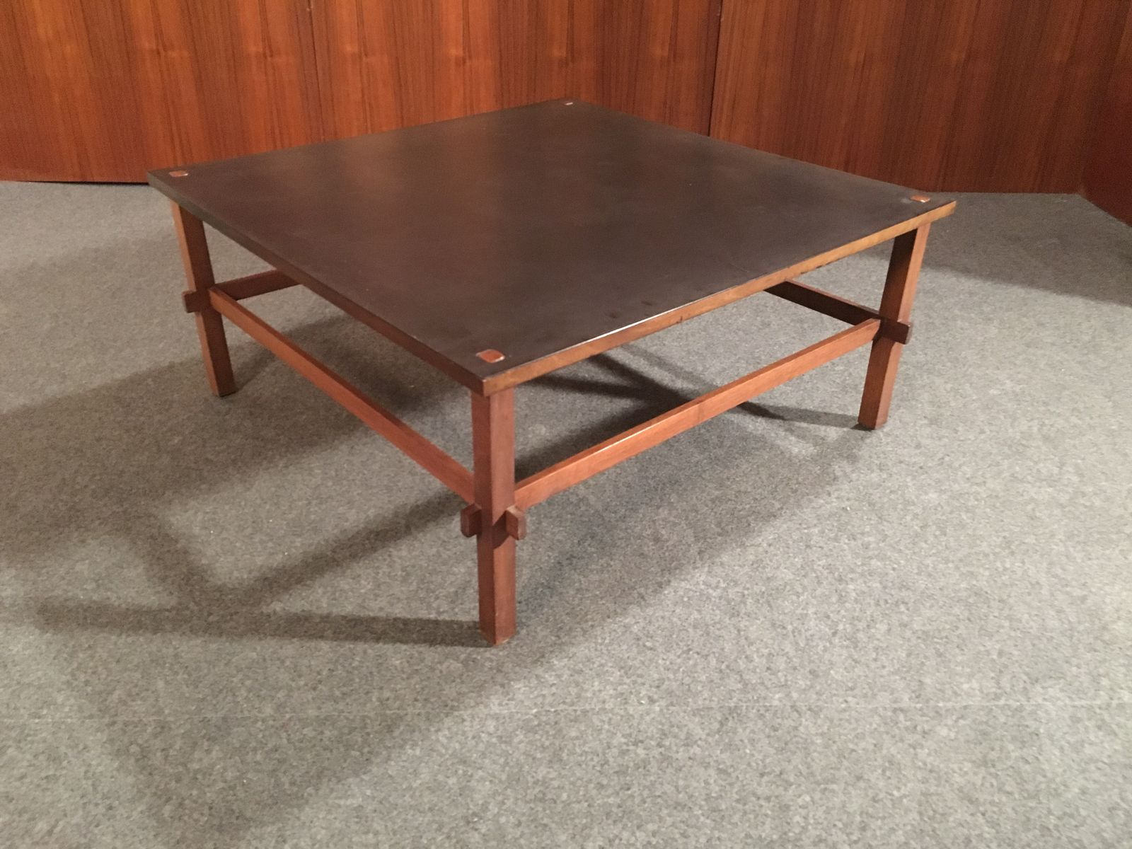 Vintage Coffee Table by Giancarlo Frattini for Cassina 1957 for