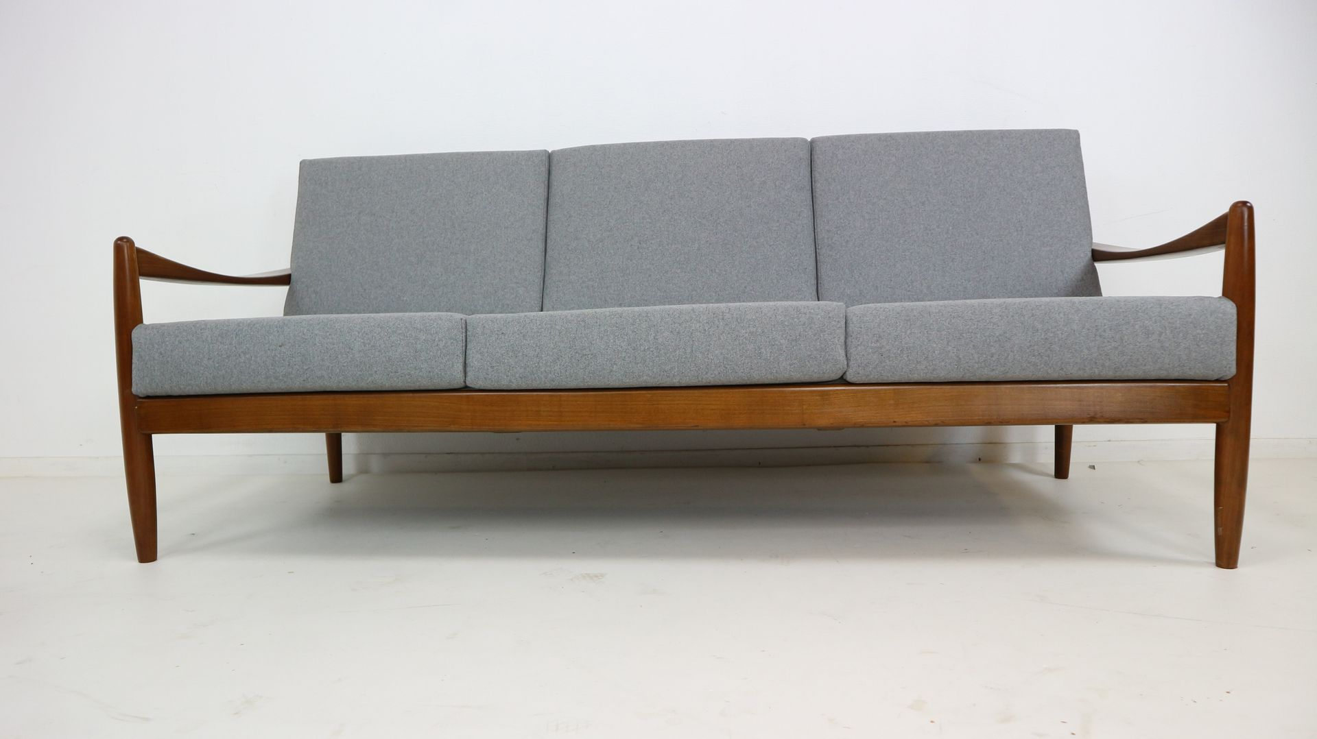 Danish Teak Bentwood Sofa 1960s For Sale At Pamono