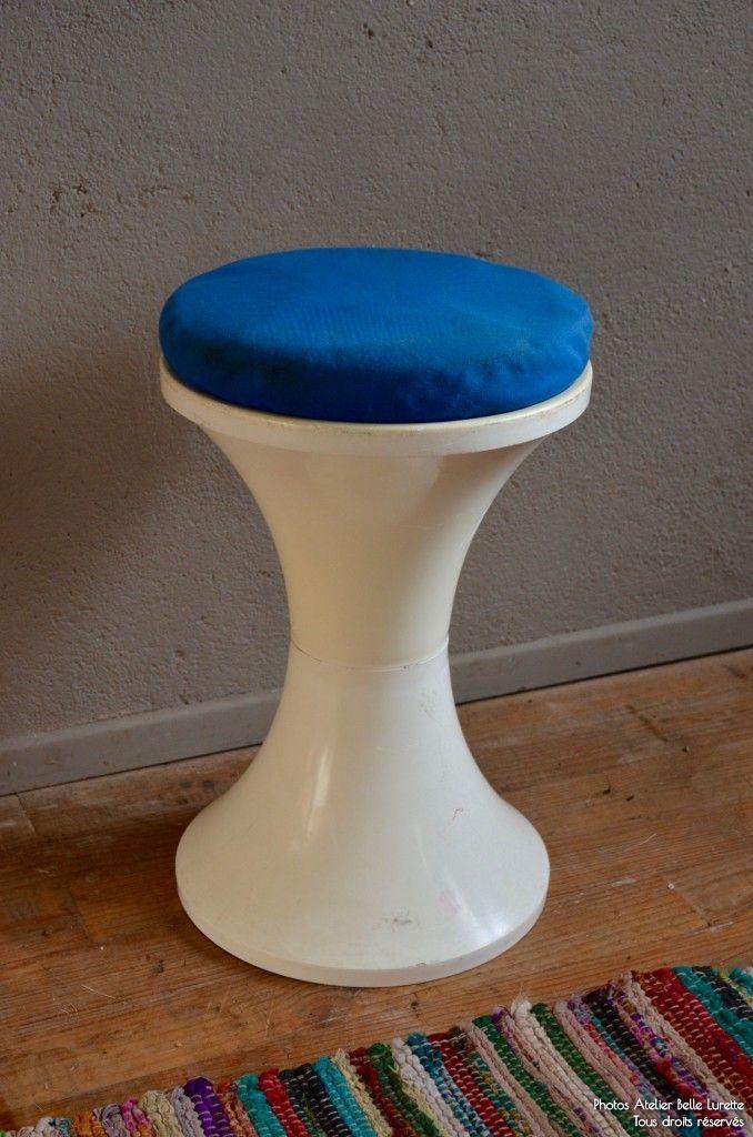 vintage tam tam stool by henry massonnet for stamp for sale at pamono. Black Bedroom Furniture Sets. Home Design Ideas
