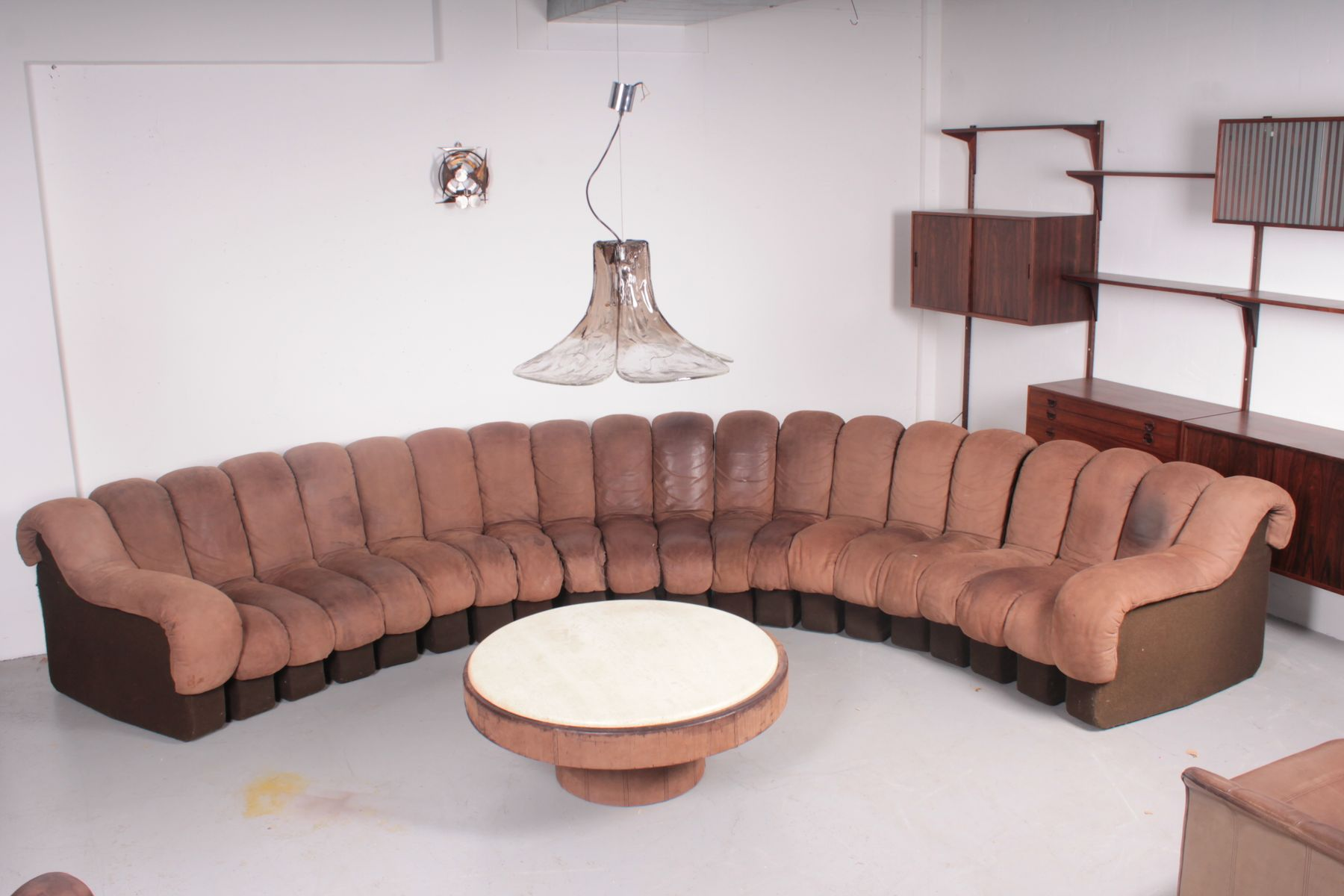 DS600 Sofa & Coffee Table from De Sede 1980s for sale at Pamono