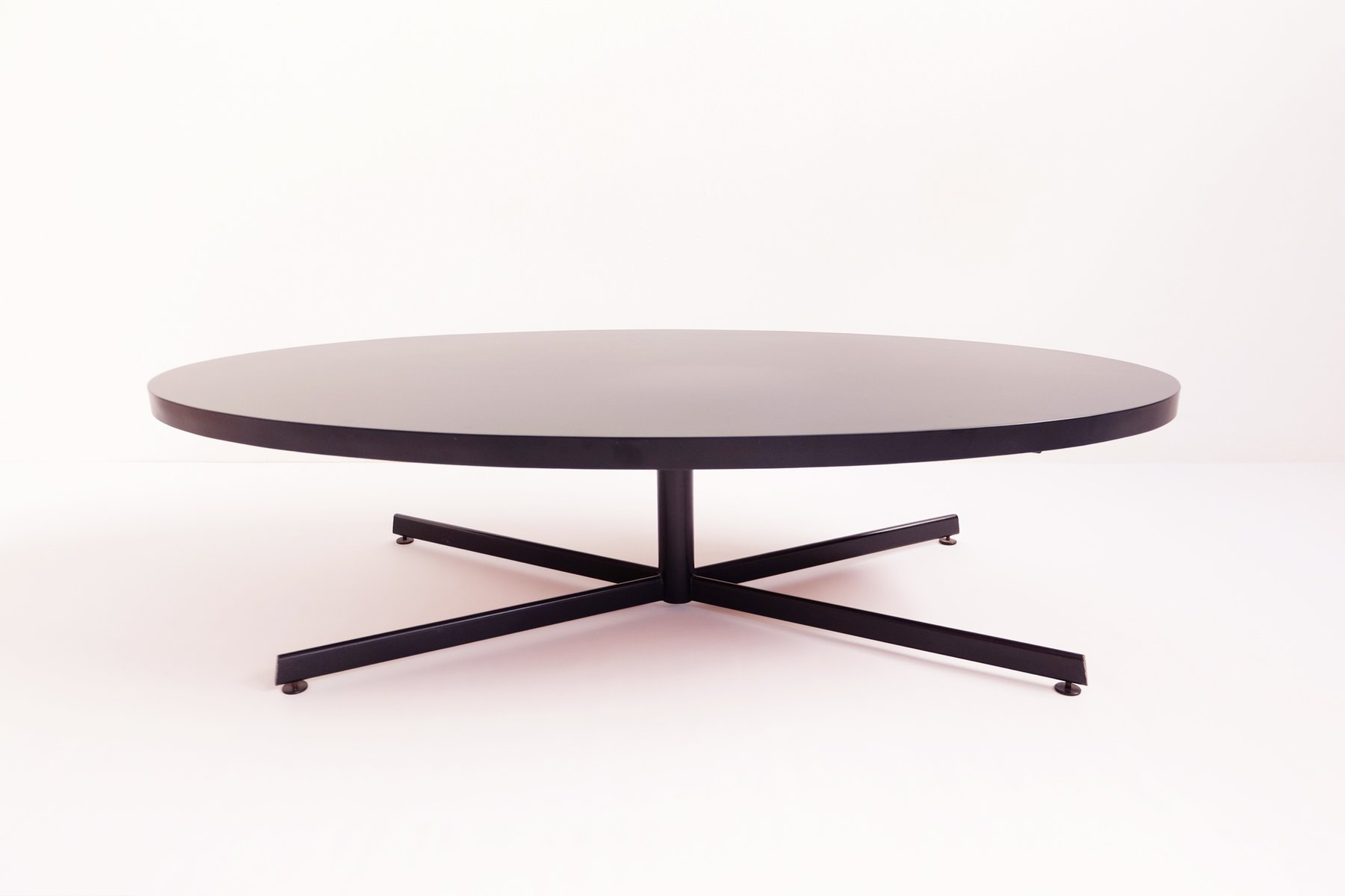 Oval Coffee Table 1960s for sale at Pamono