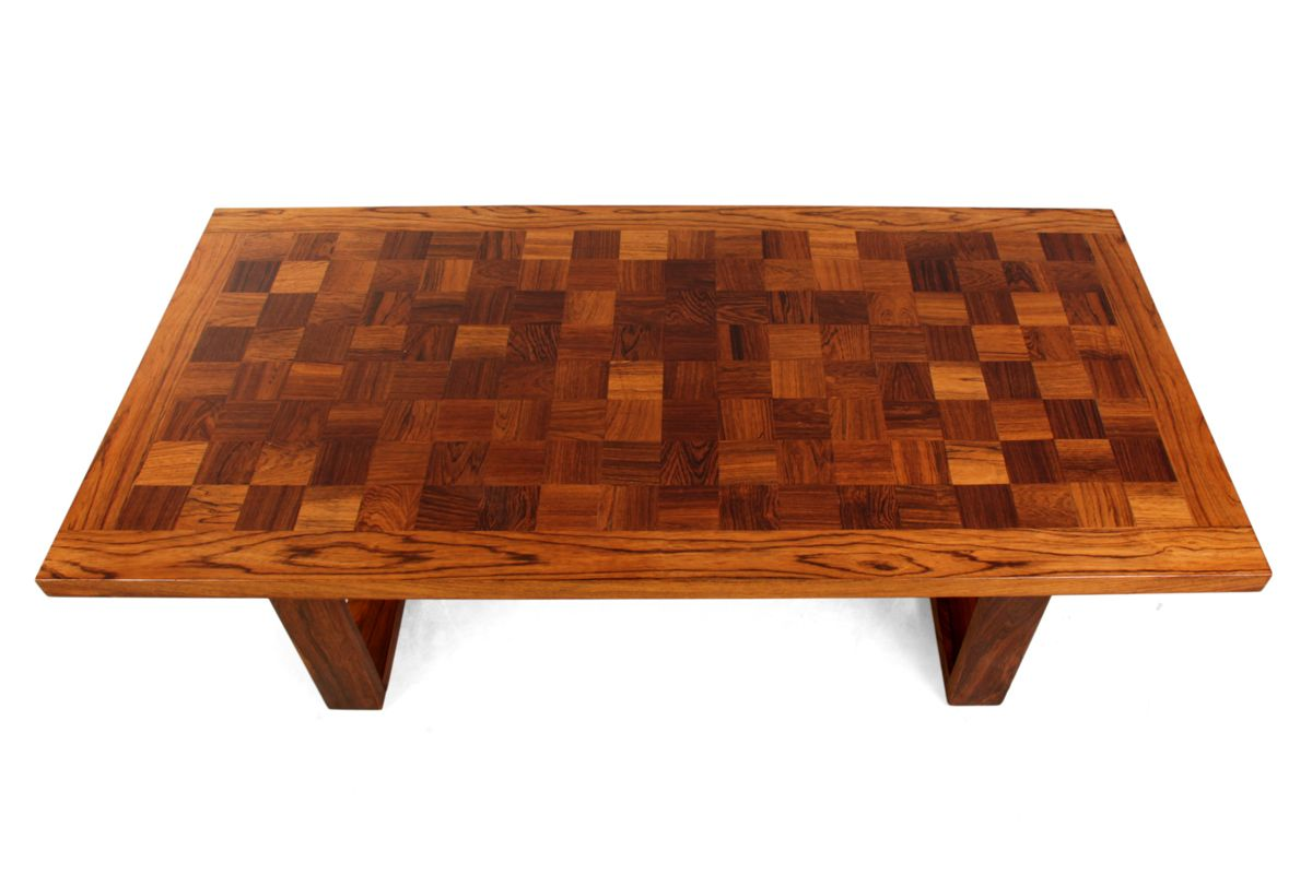 Rosewood Coffee Table by Poul Cadovius for Cado 1960s for sale at