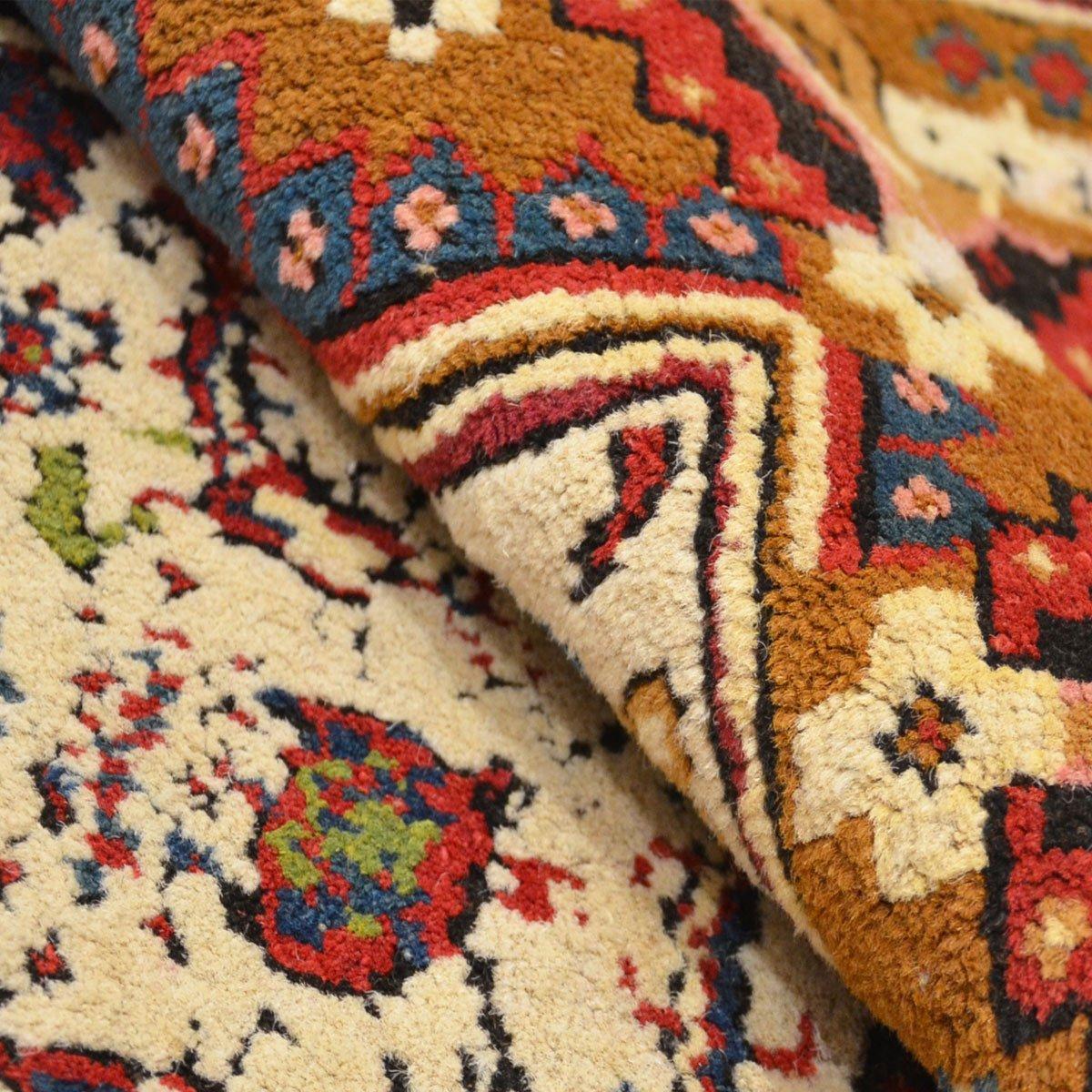 wei er antiker agra teppich bei pamono kaufen. Black Bedroom Furniture Sets. Home Design Ideas