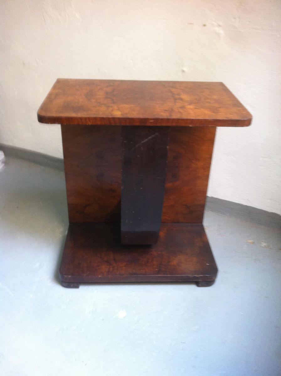 small art deco walnut console table s. small art deco walnut console table s for sale at pamono