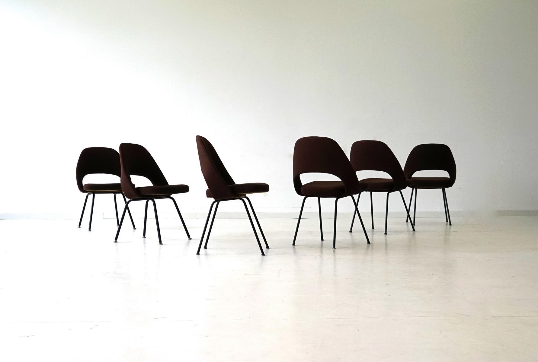 modell 72 u st hle von eero saarinen f r knoll international 1960er 4er set bei pamono kaufen. Black Bedroom Furniture Sets. Home Design Ideas