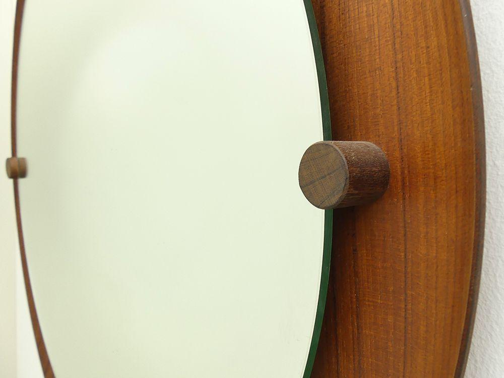 organischer runder wandspiegel von ezio longhi f r elam 1961 bei pamono kaufen. Black Bedroom Furniture Sets. Home Design Ideas