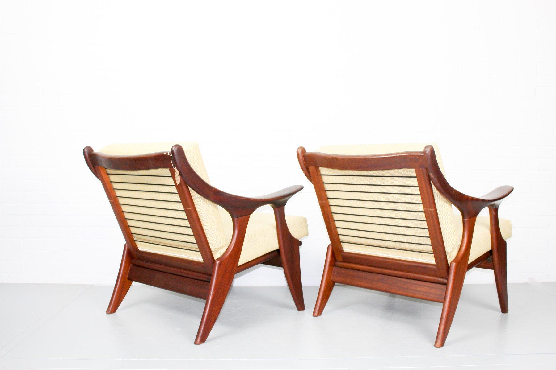 Kleine Sessel kleine sessel de ster gelderland 1950er 2er set bei pamono