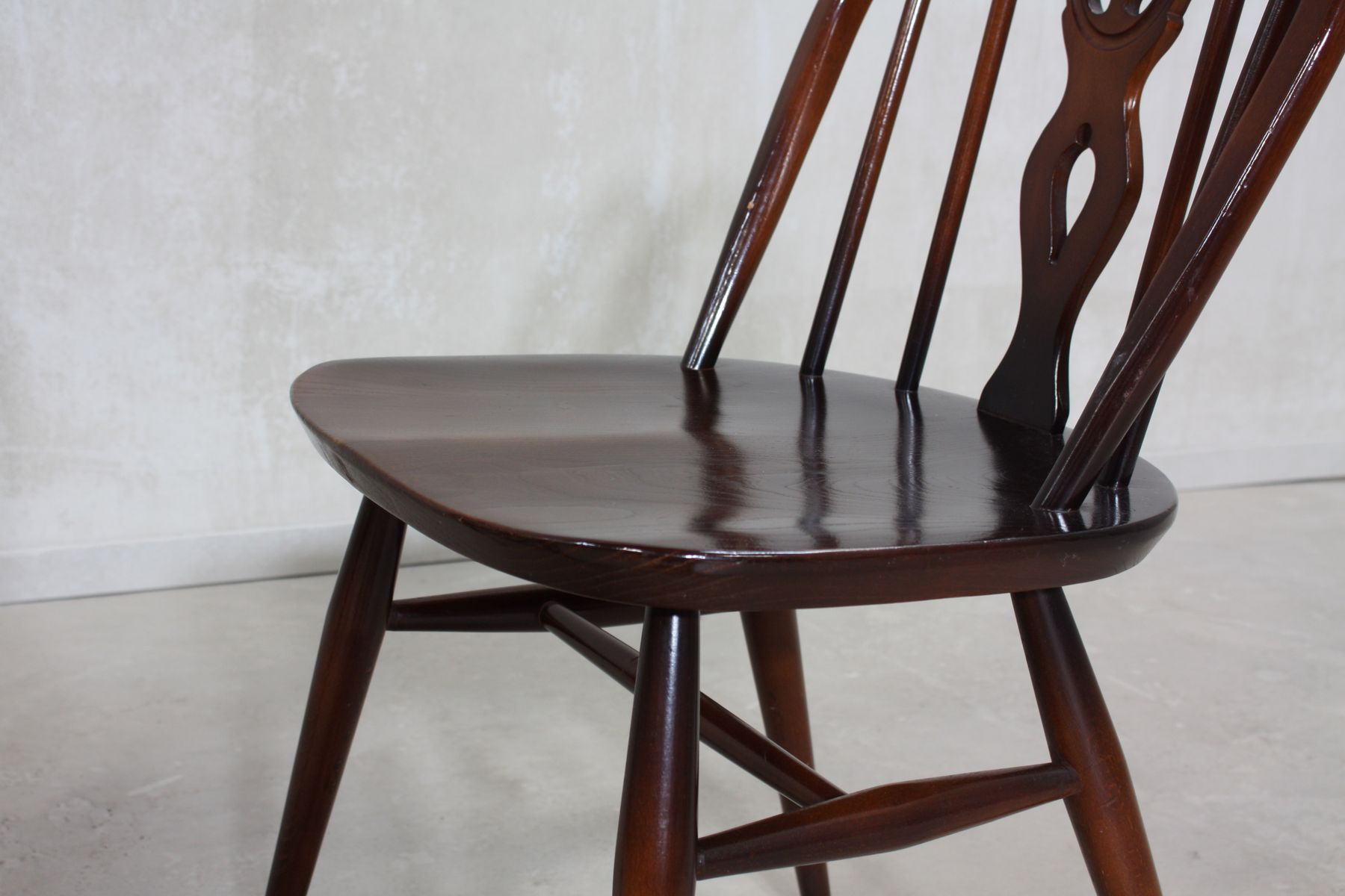 371 & 371A Windsor Dining Chairs by Lucian Ercolani for Ercol