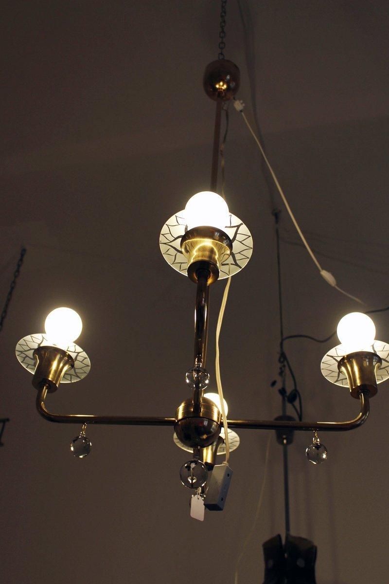 vintage art deco ceiling light for sale at pamono. Black Bedroom Furniture Sets. Home Design Ideas