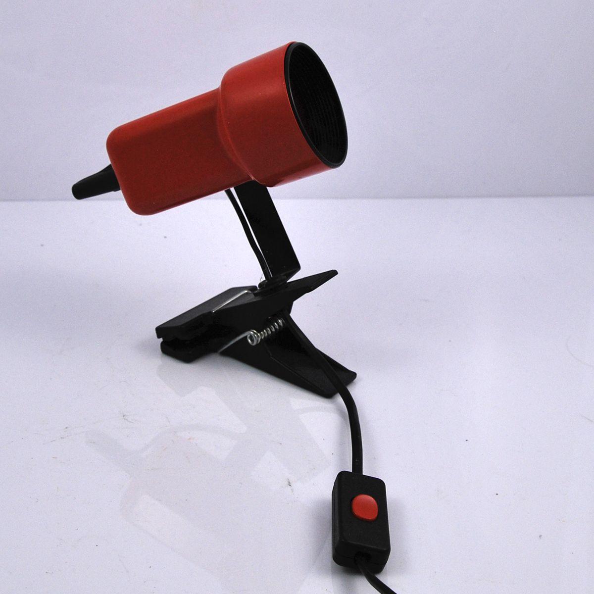 small model clip lamp 1970s