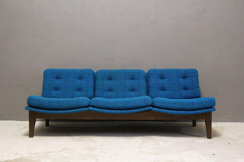 Vintage Convertible Swedish Sofa By Swedfurn Sl Tte