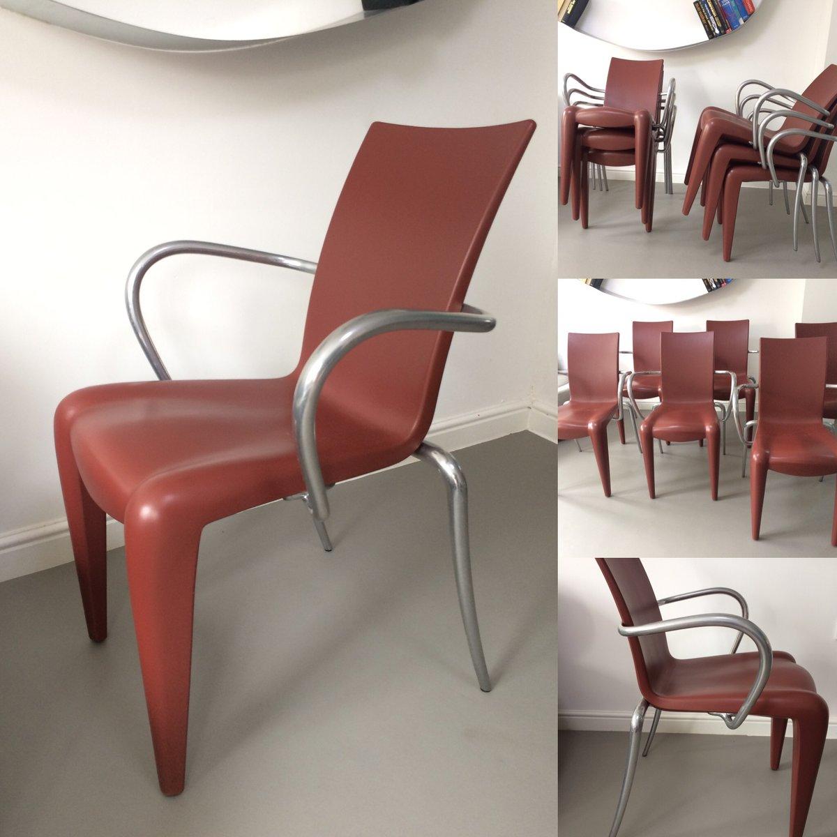 louis 20 st hle von philippe starck f r vitra 1990er 6er set bei pamono kaufen. Black Bedroom Furniture Sets. Home Design Ideas
