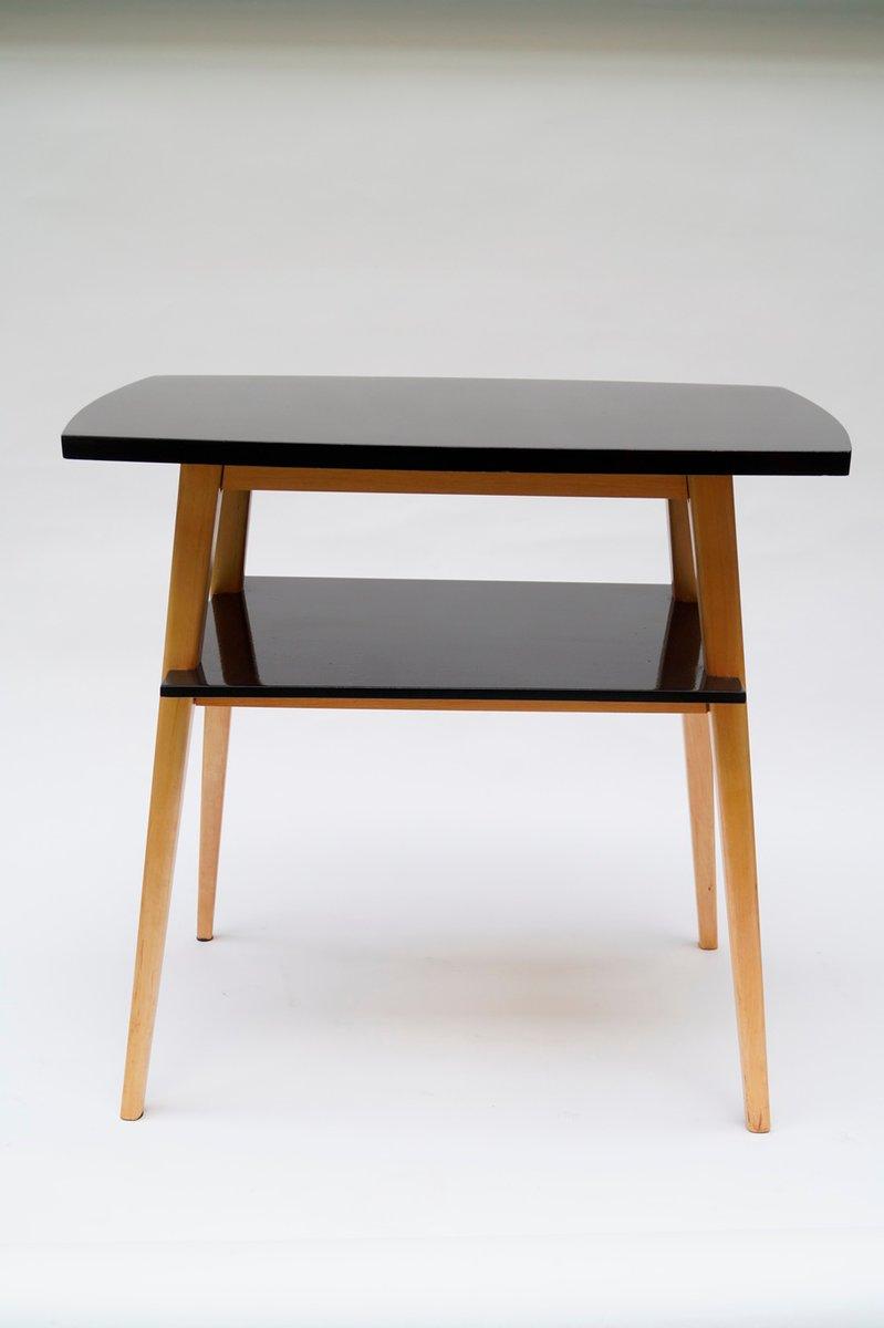 vintage tv table by le niewski lejkowski for cracow furniture factory for sale at pamono. Black Bedroom Furniture Sets. Home Design Ideas