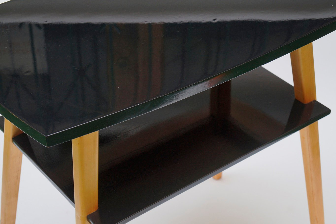 Vintage tv table by le niewski lejkowski for cracow for Furniture factory